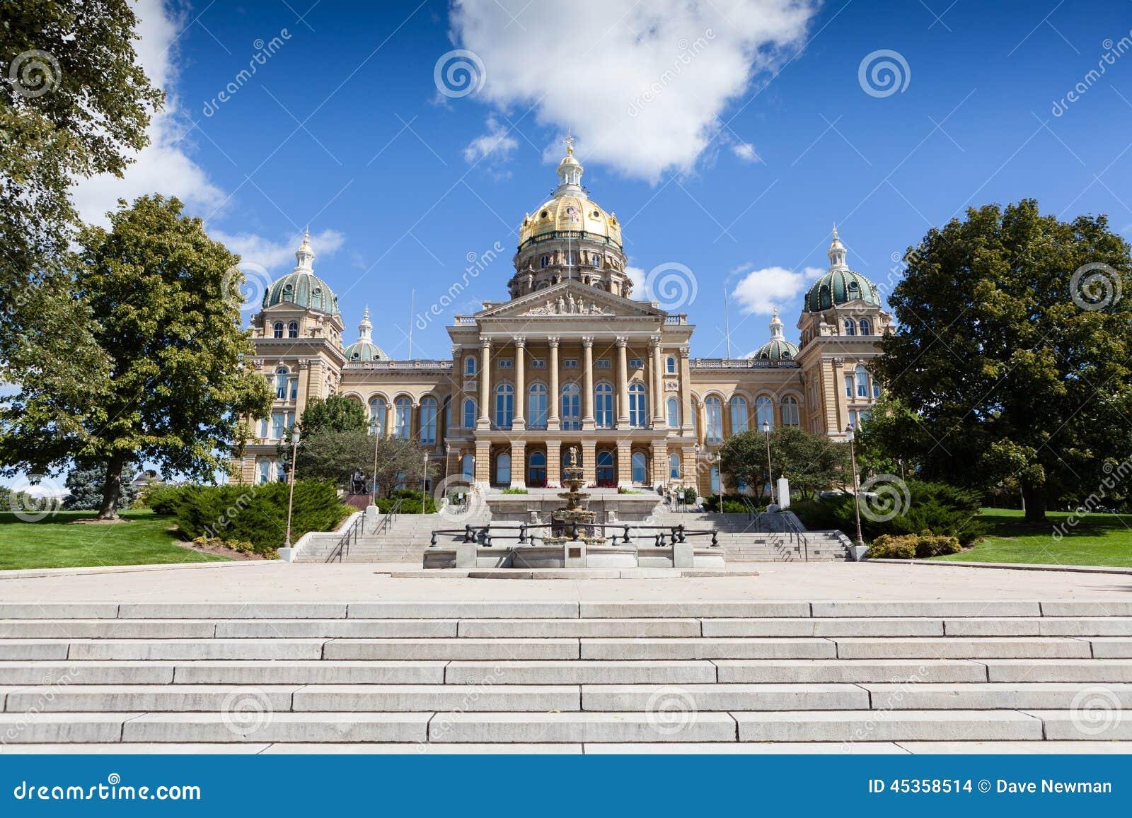 Bâtiment de capitol d état de l Iowa, Des Moines