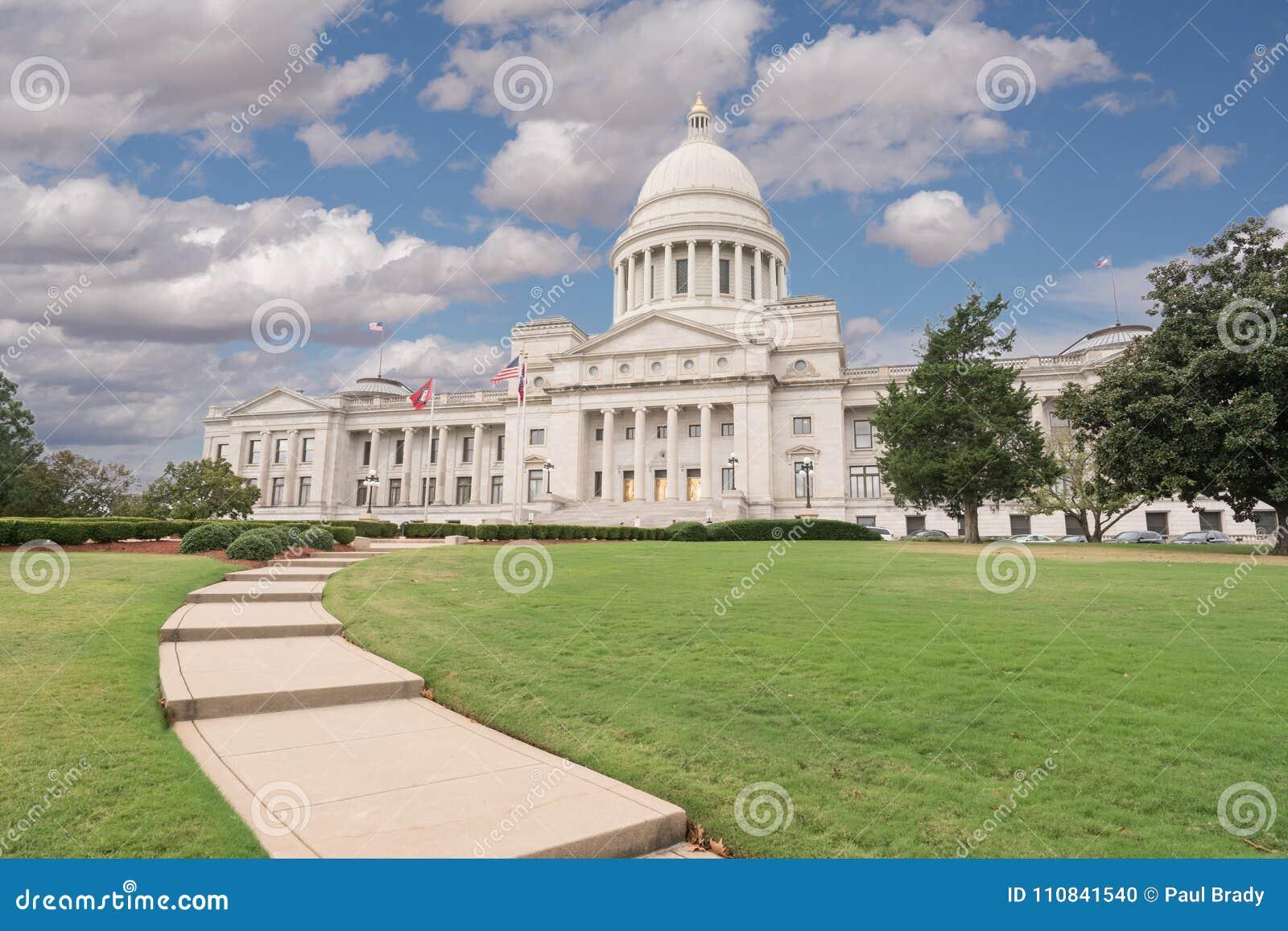 Bâtiment de capitol de l Arkansas à Little Rock