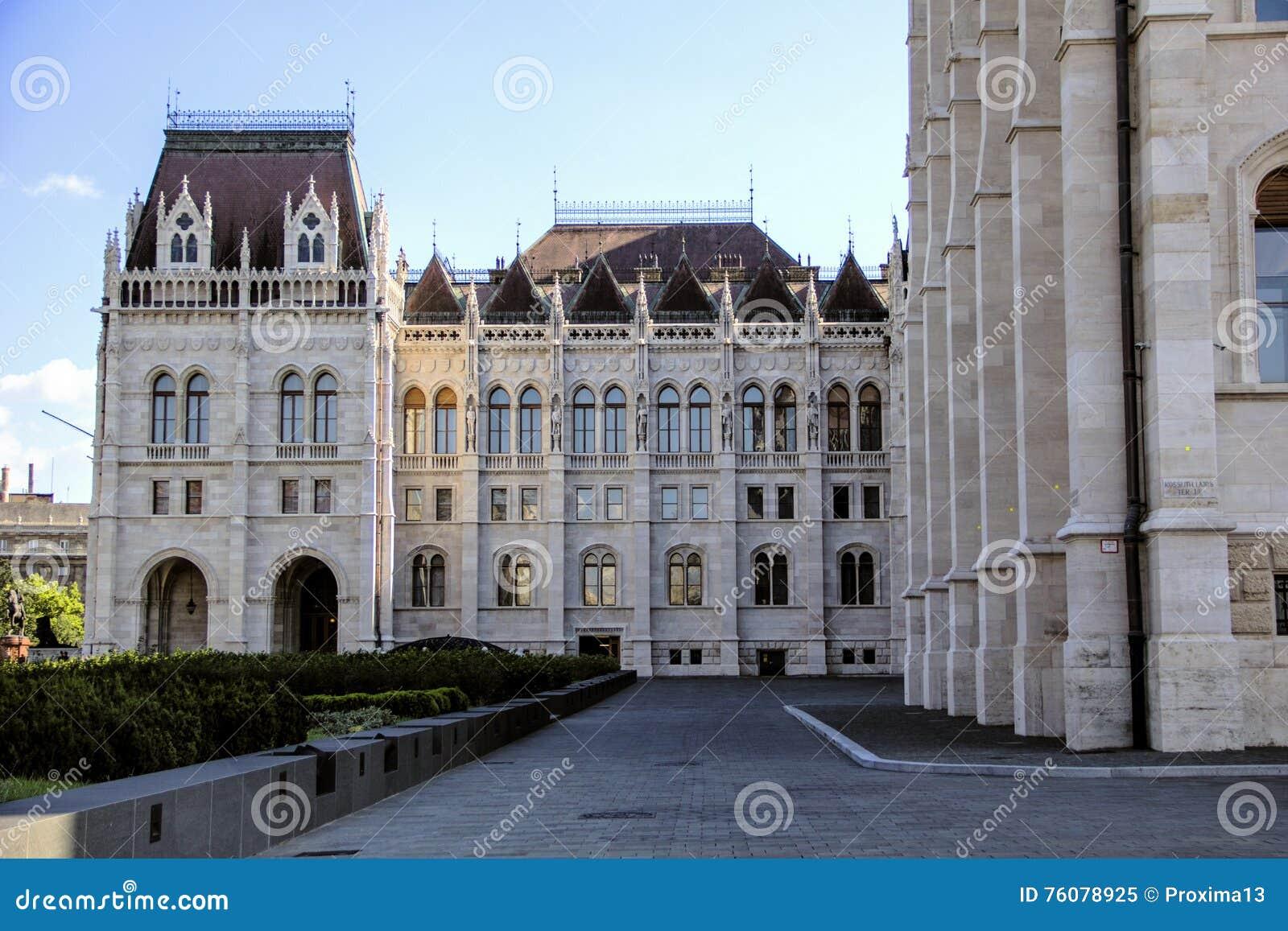 Bâtiment du Parlement hongrois à Budapest