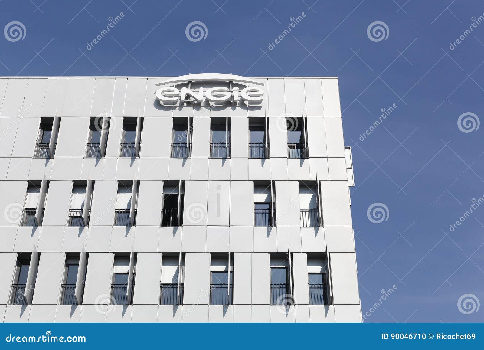 Bâtiment et bureaux dengie image éditorial image du