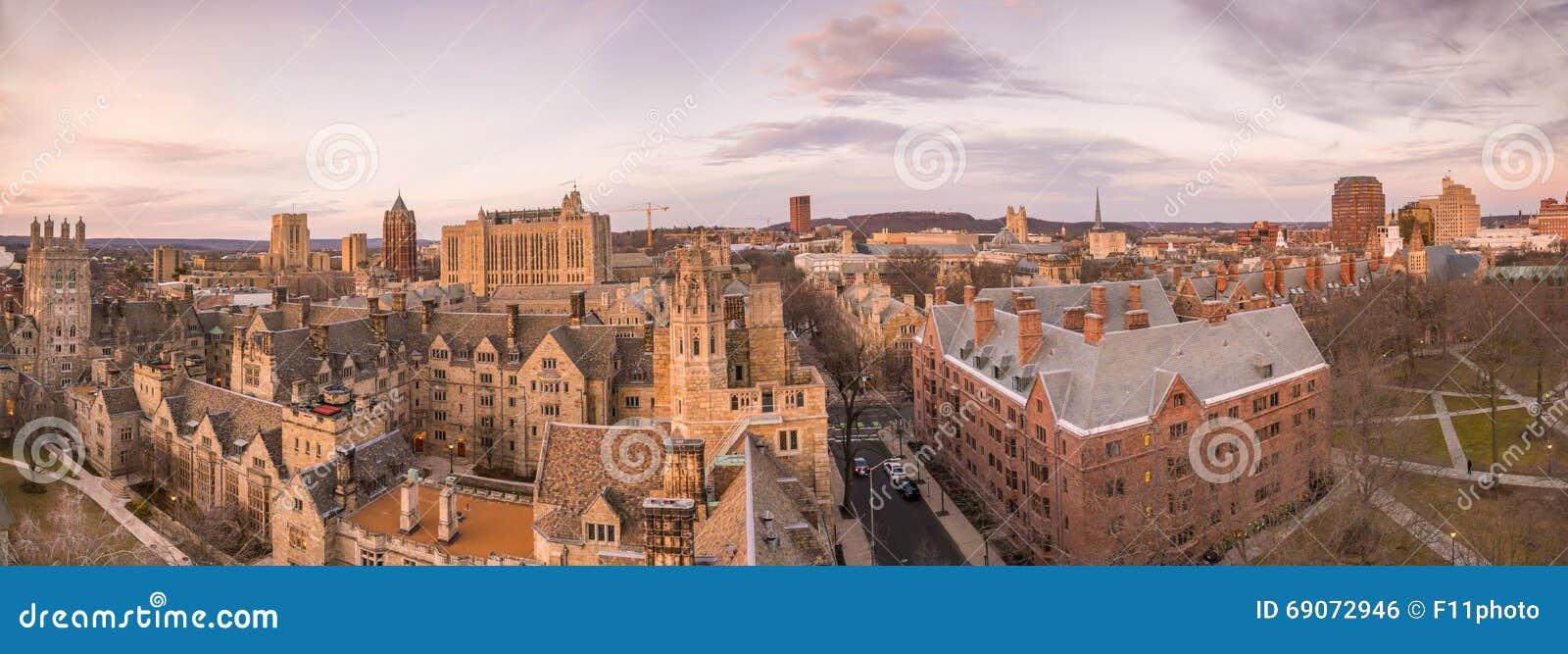 Bâtiment et campus d Université de Yale historiques