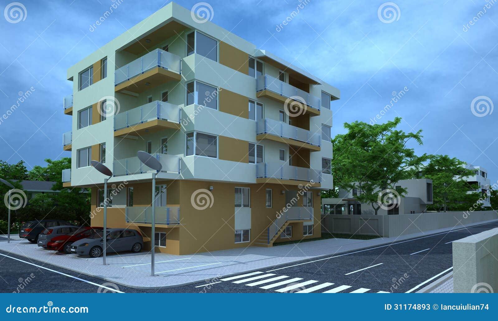 B timent ext rieur rendu de conception architecture for Photos architecture batiment