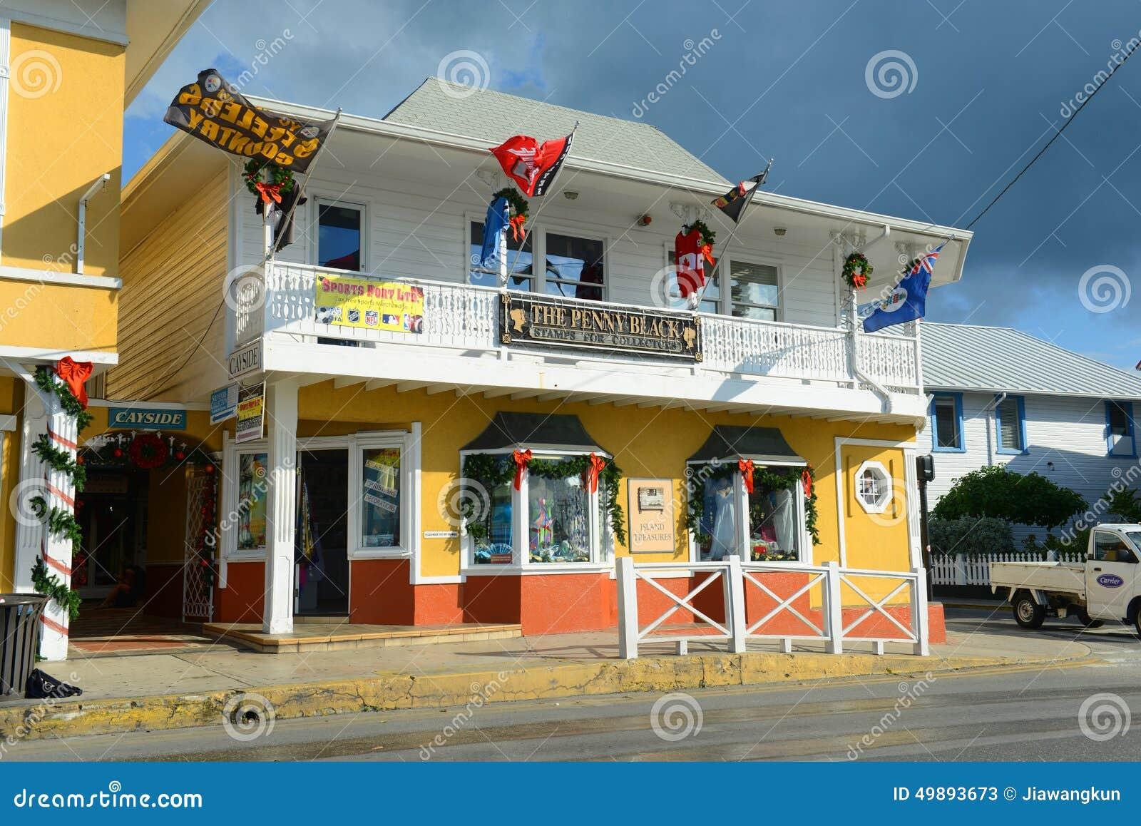 Bâtiment historique en George Town, Îles Caïman