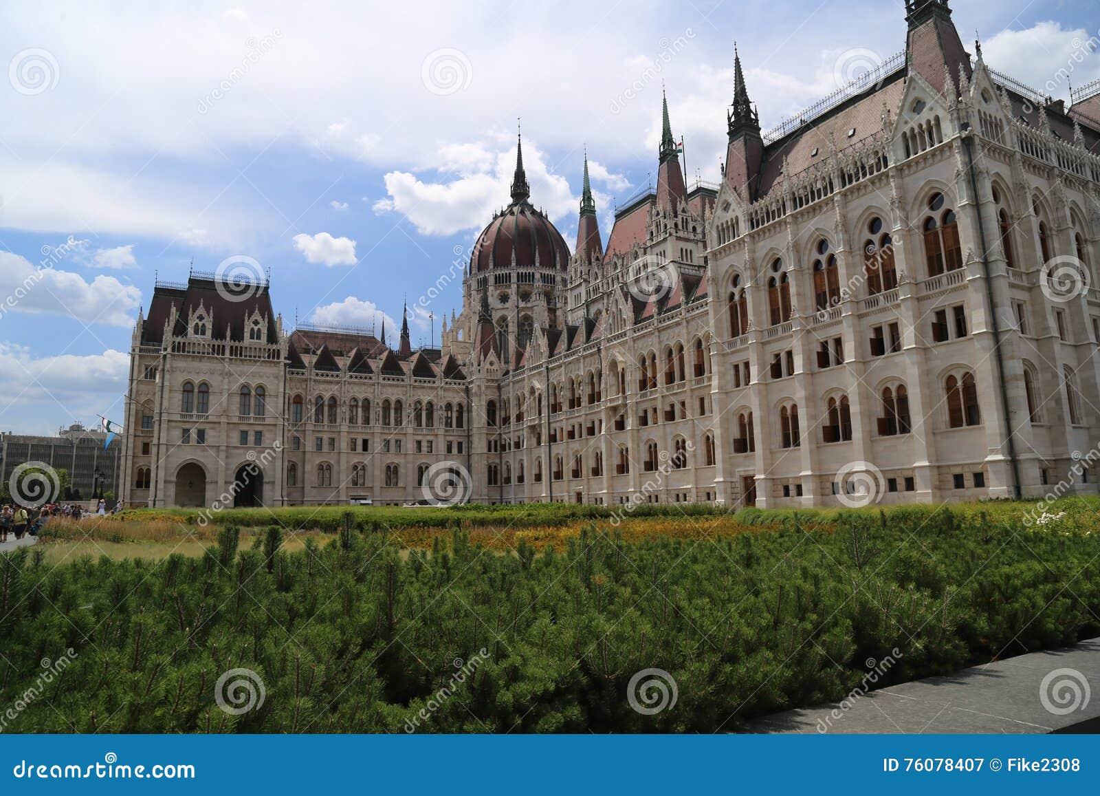 Bâtiment hongrois du Parlement
