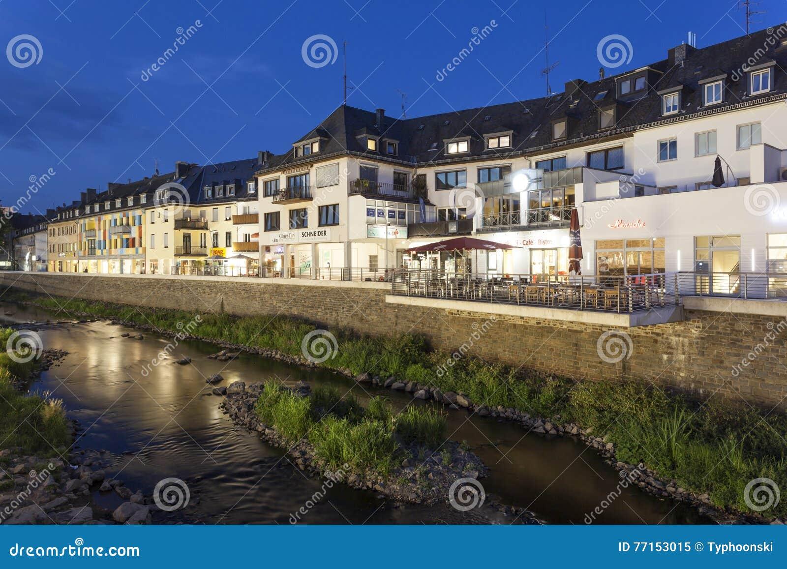 Bâtiments de bord de mer dans Siegen, Allemagne
