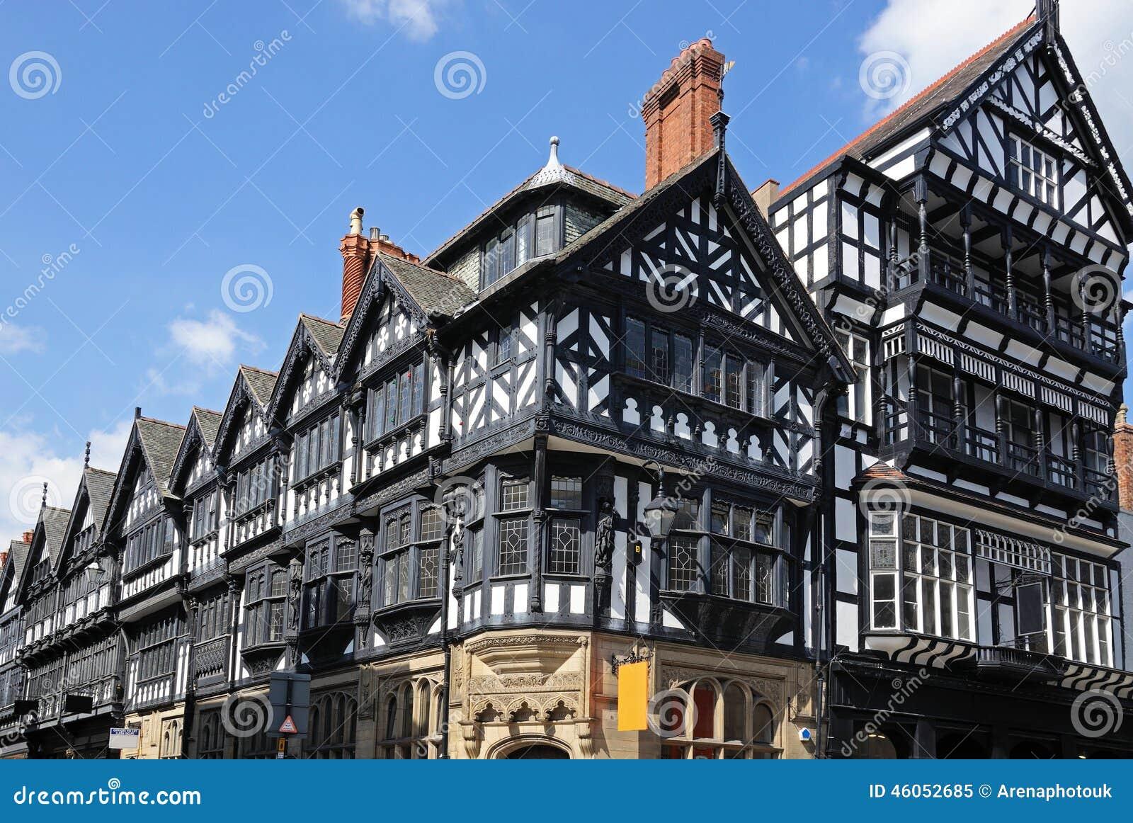 Bâtiments de Tudor, Chester