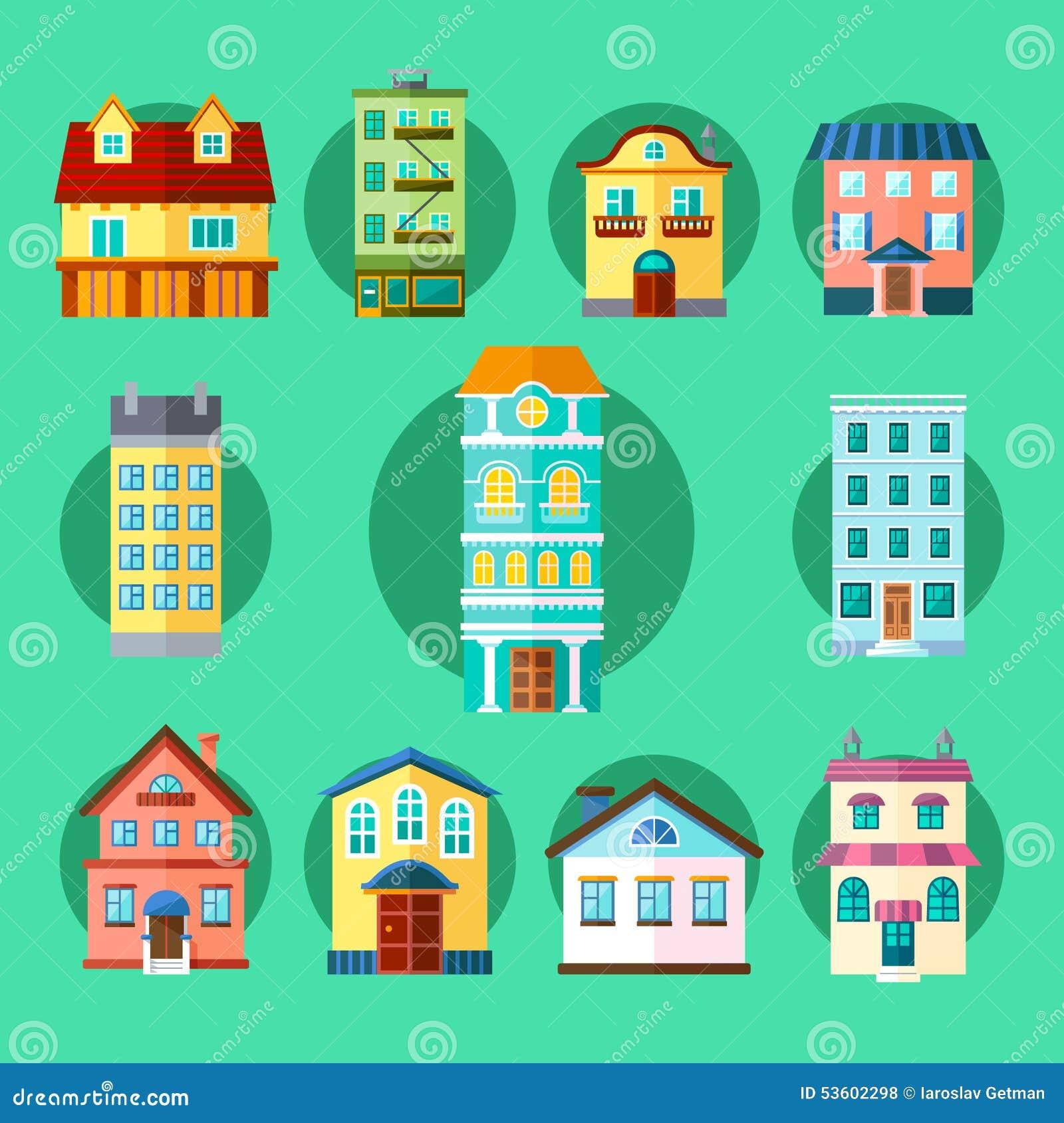 Bâtiments de ville et de ville