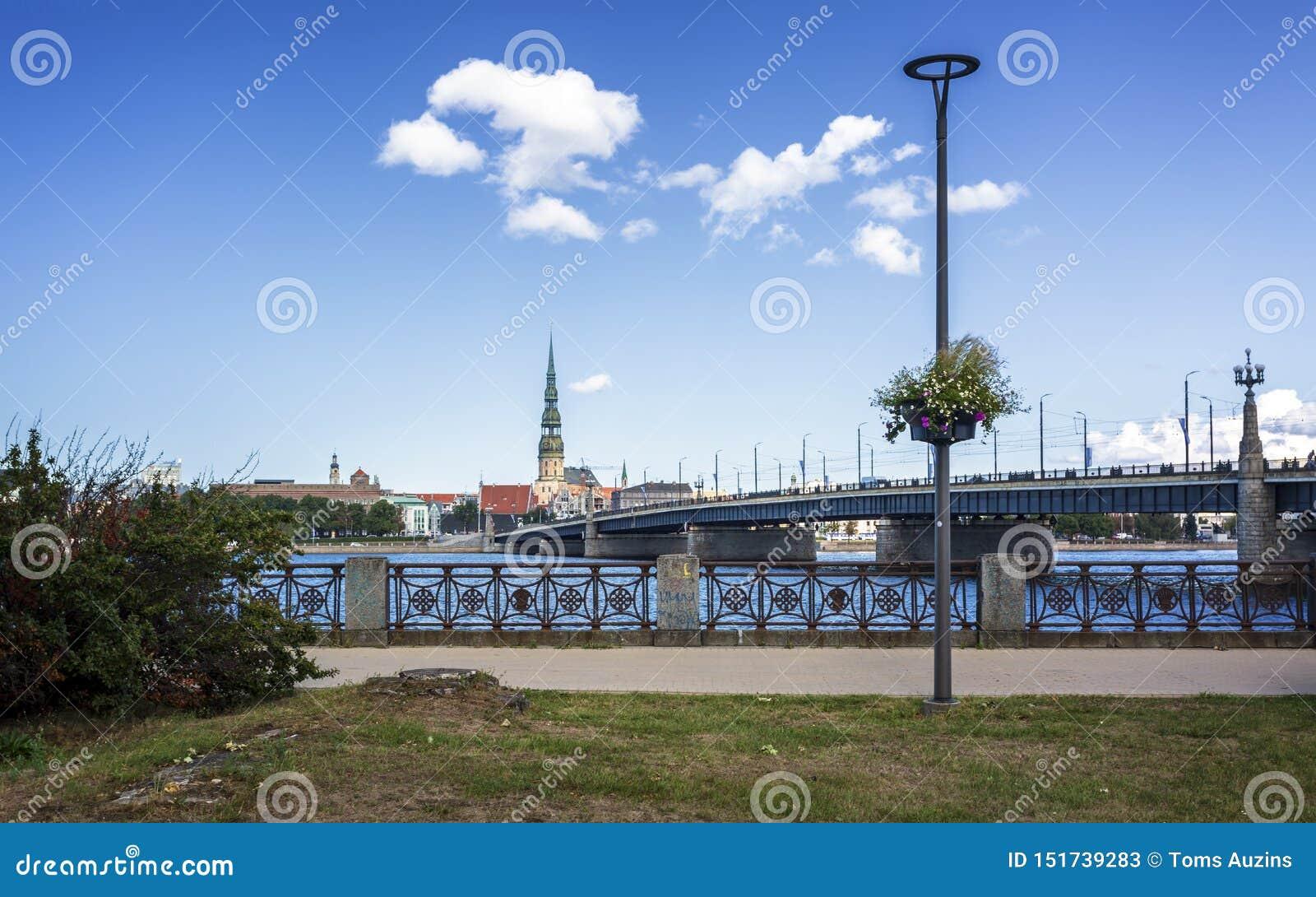 Bâtiments historiques à vieux Riga