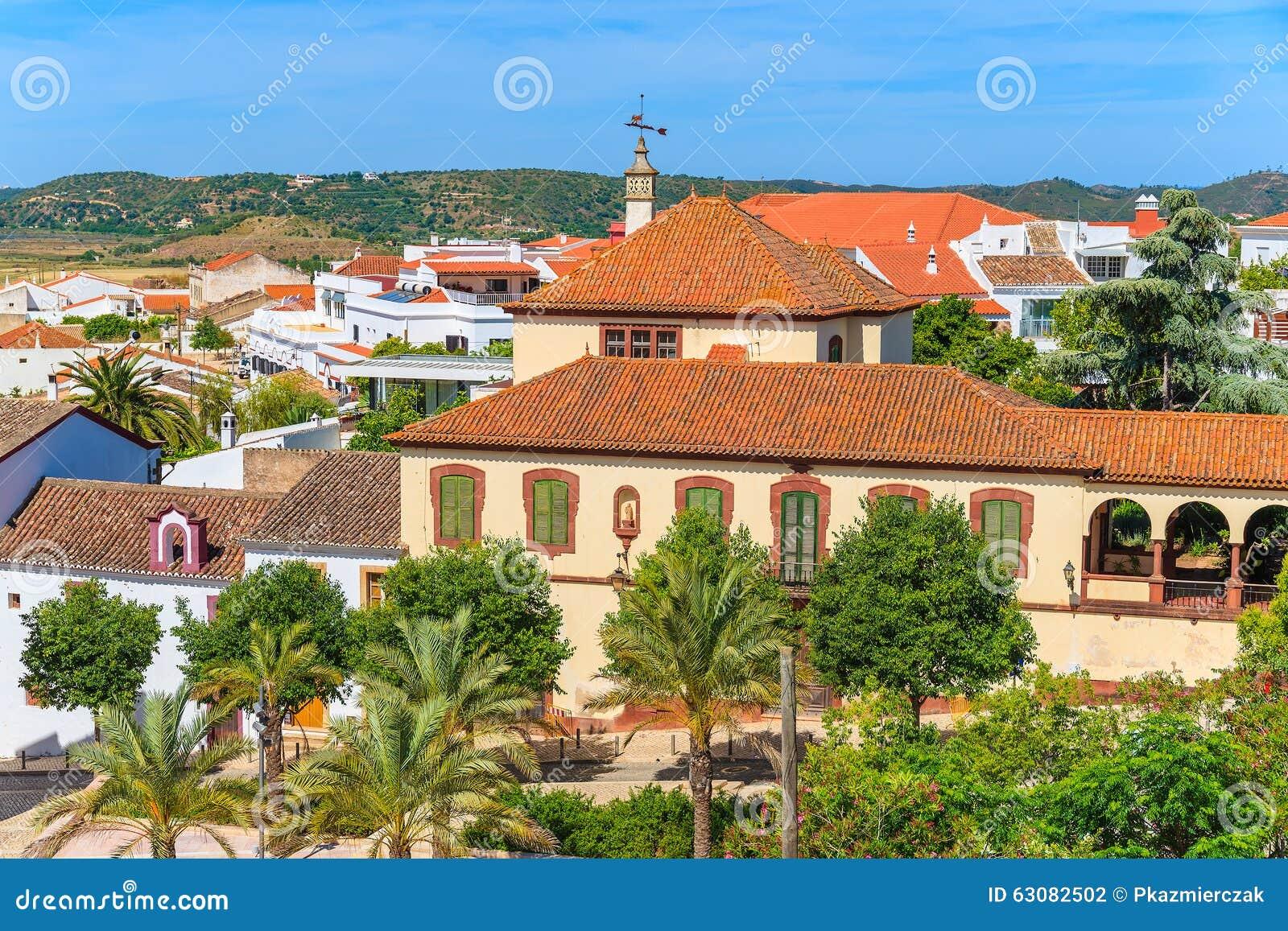 Download Bâtiments Historiques Et Palmiers Dans La Ville De Silves Photo stock - Image du vacances, vieux: 63082502