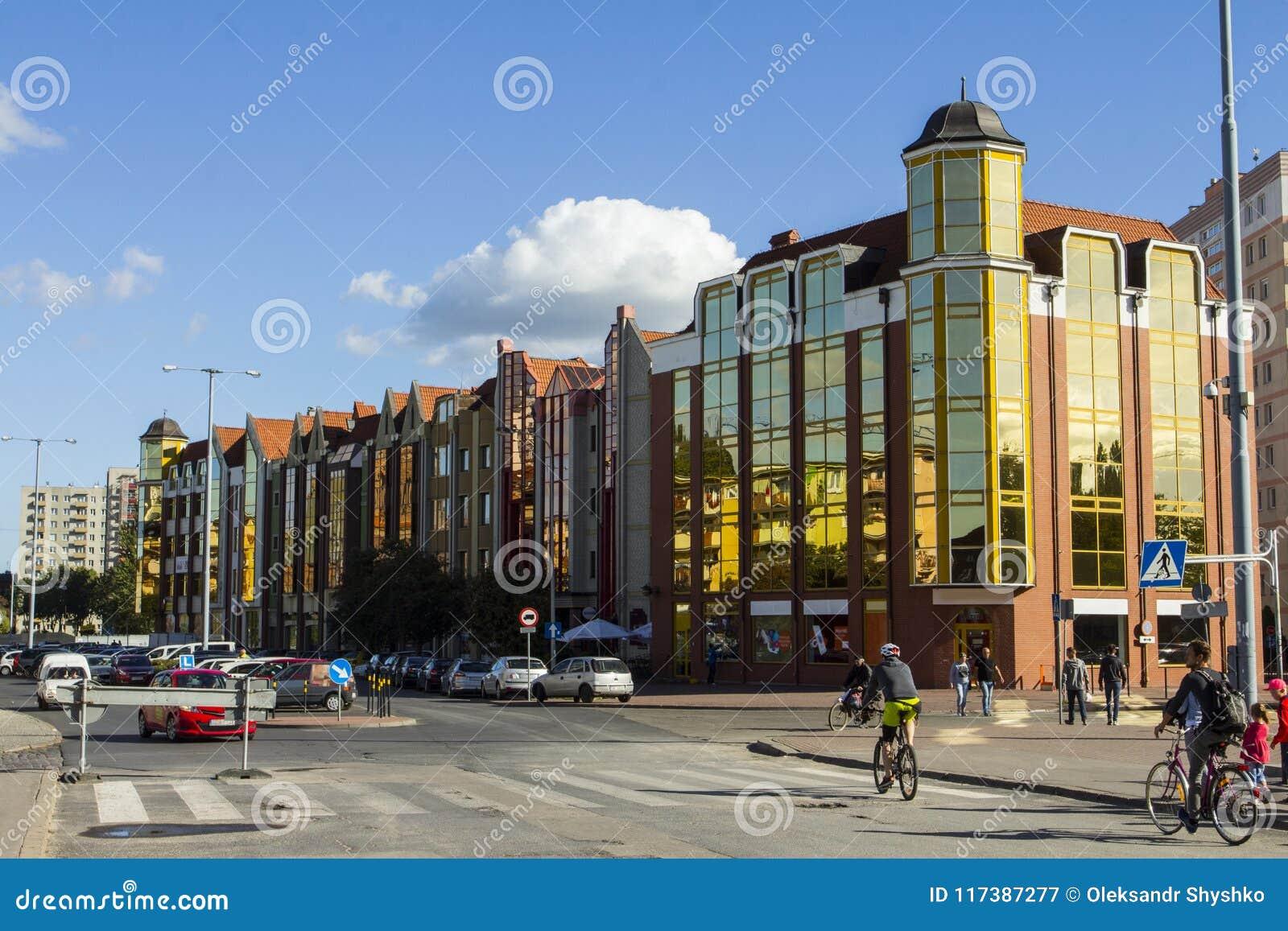 Bâtiments résidentiels modernes à Danzig poland