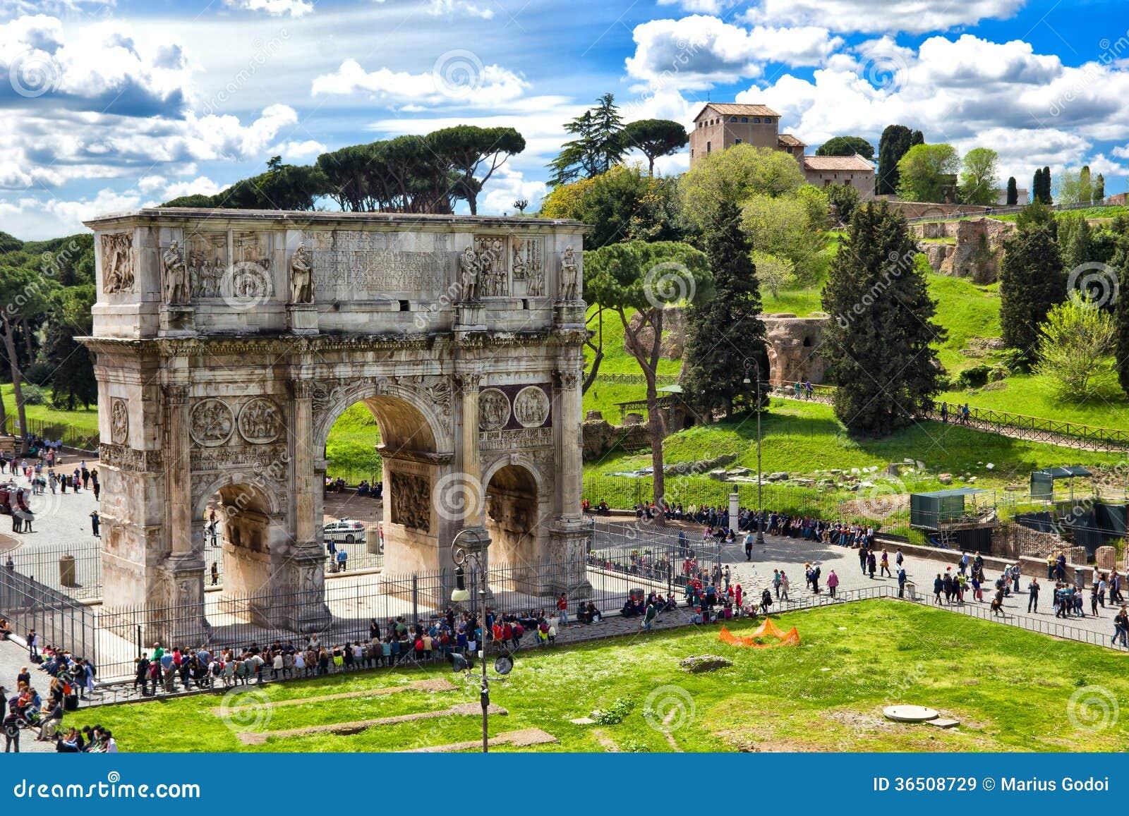 Bâtiments romains antiques à Rome Italie
