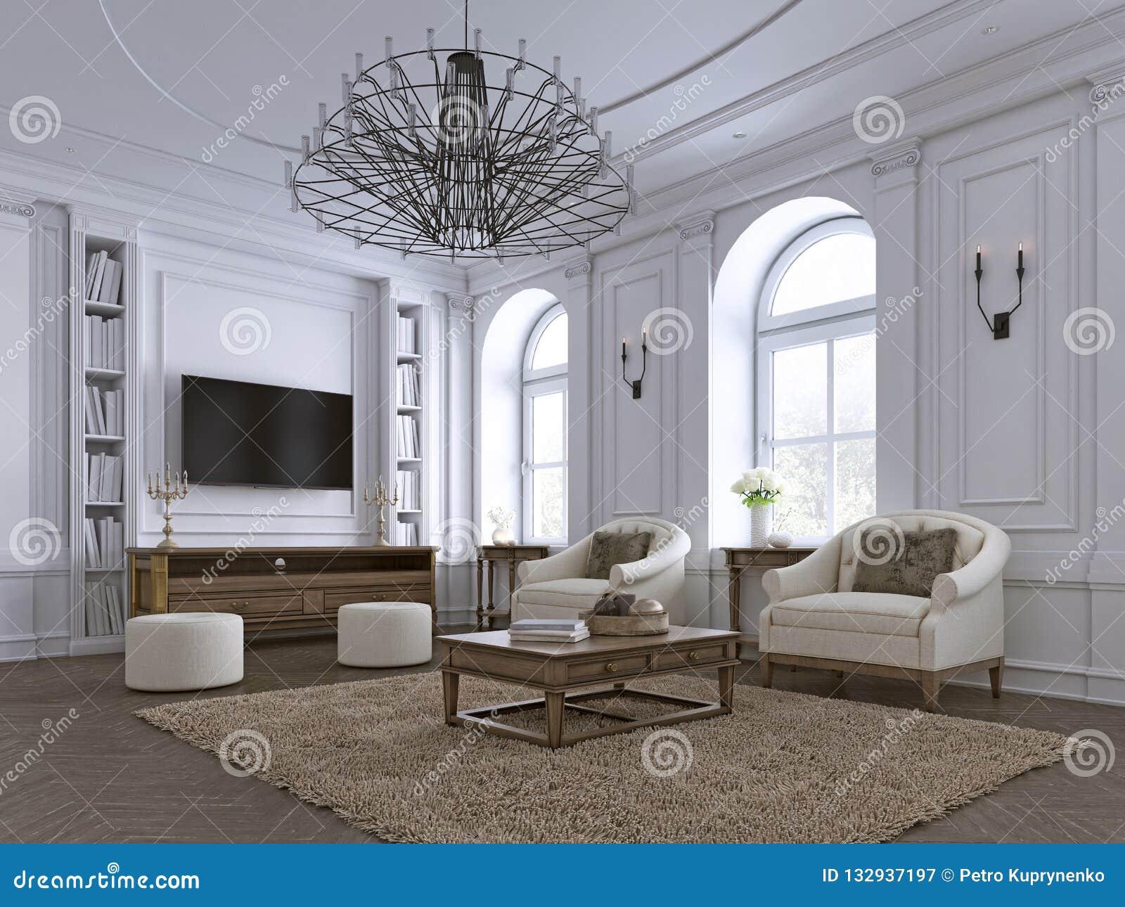 Bâtis Classiques De Salon, De Panneautage Et De Plafond Au ...