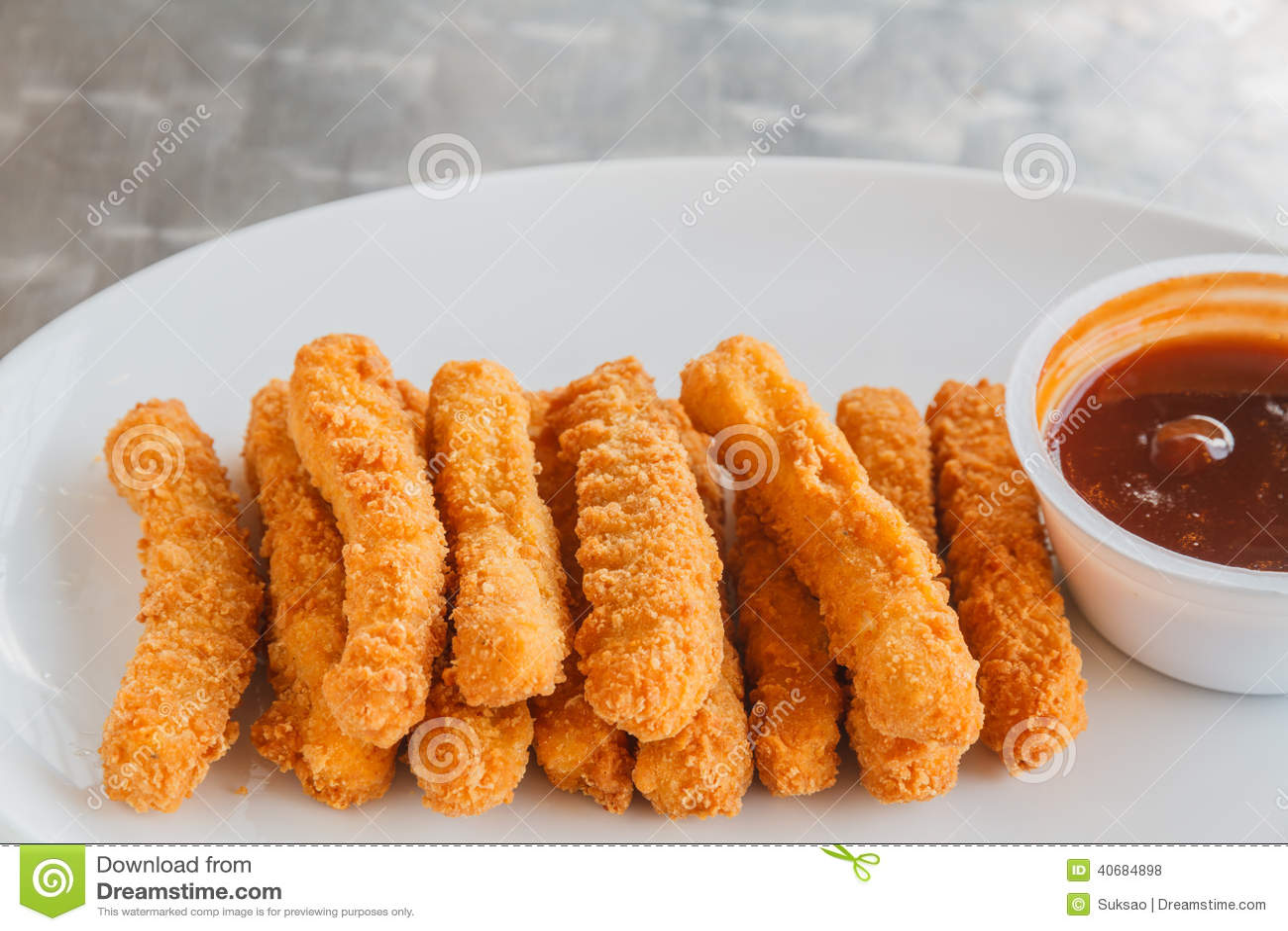 Bâton de poulet