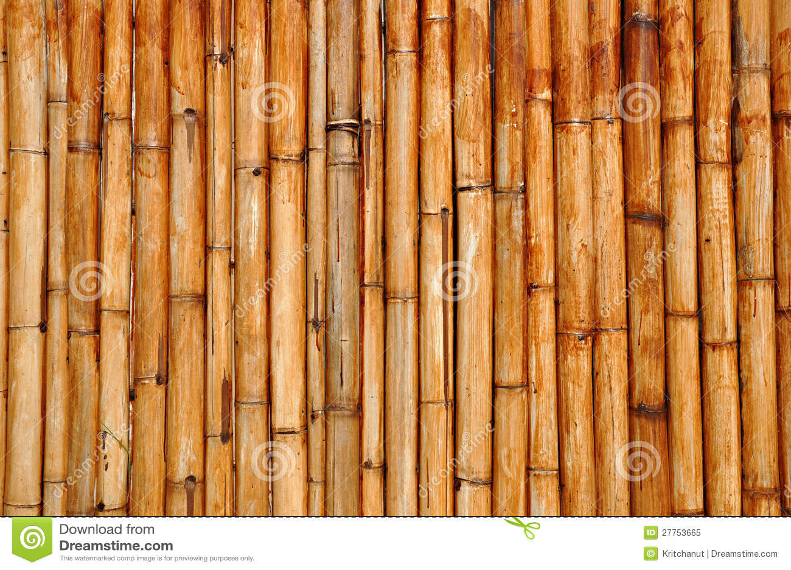 Bâtons en bambou secs