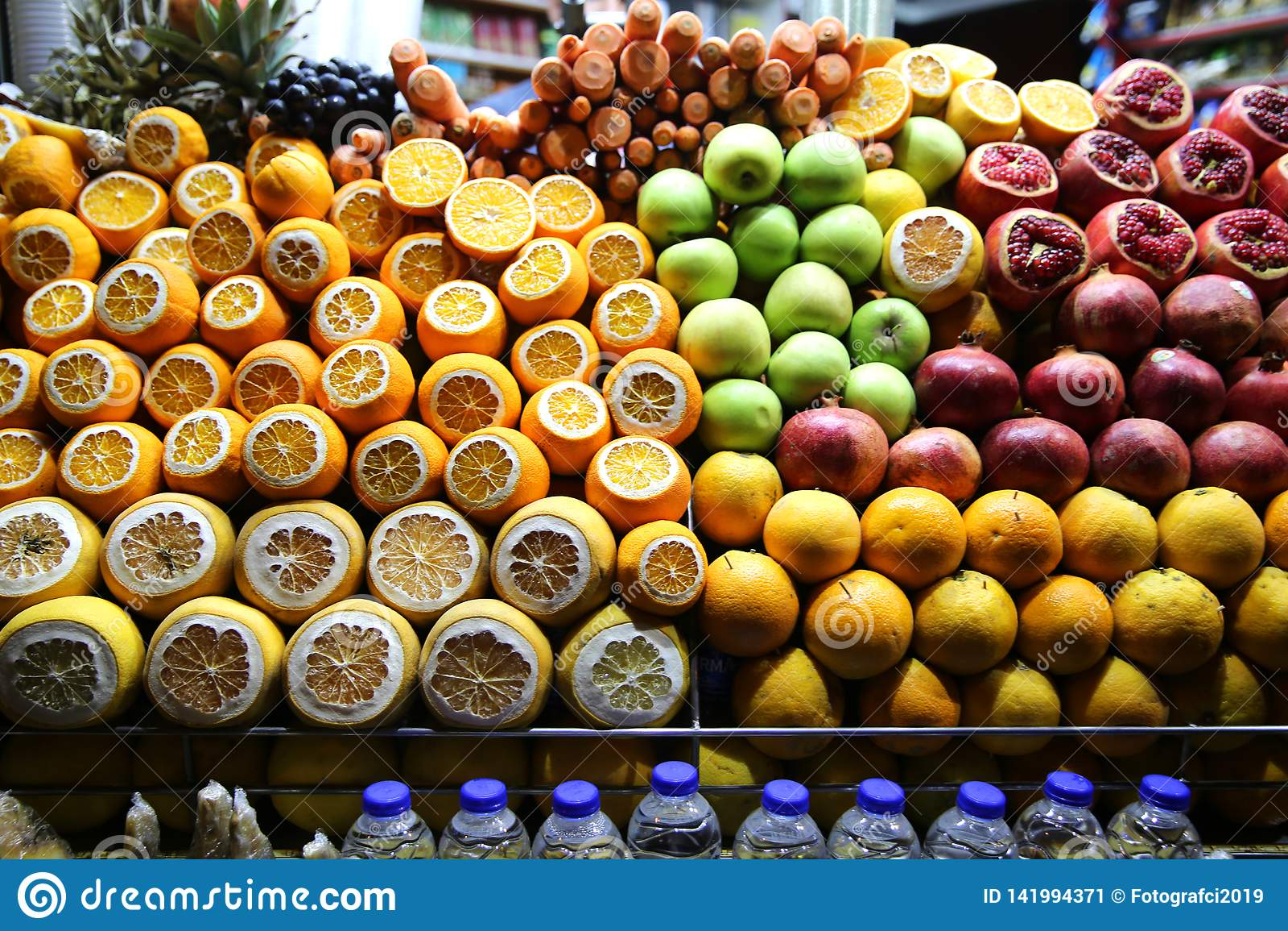 Bär frukt Juice Shop i Beyoglu Ä°stanbul