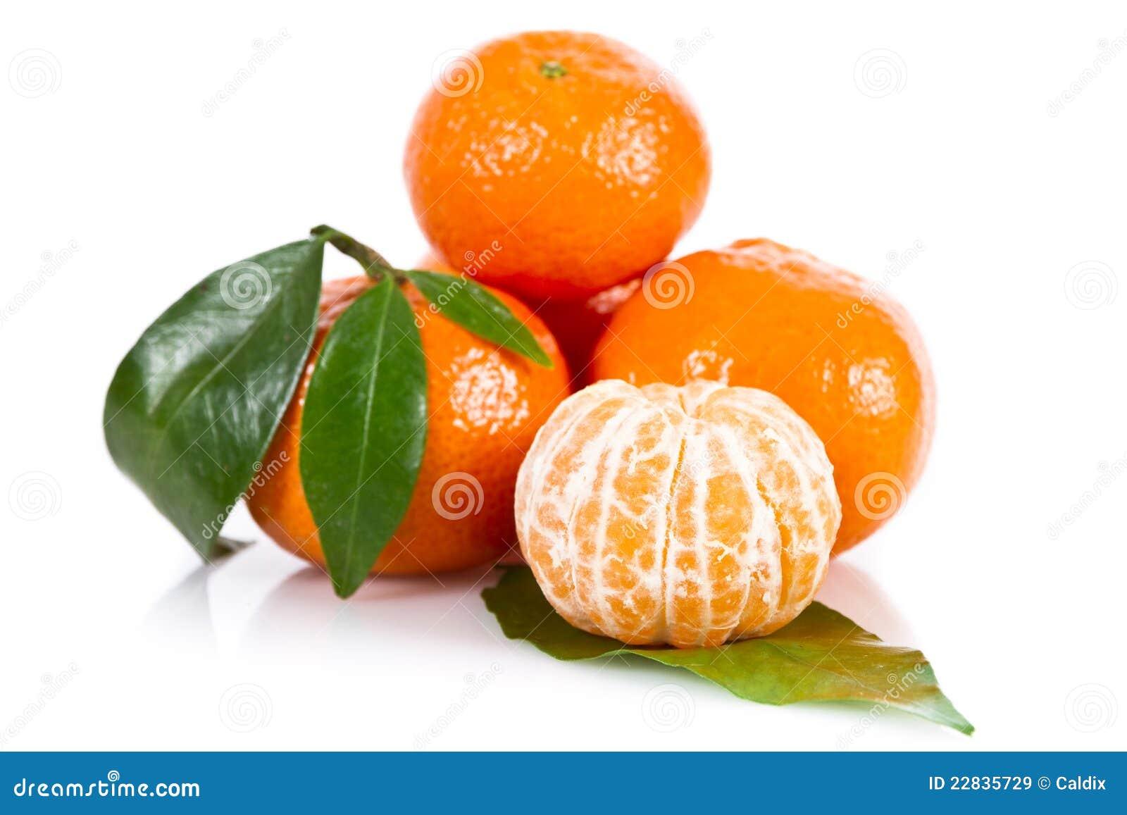 Bär fruktt mandarinen