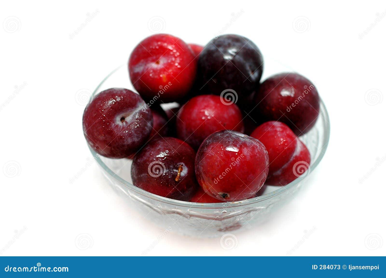Bär fruktt plommonet