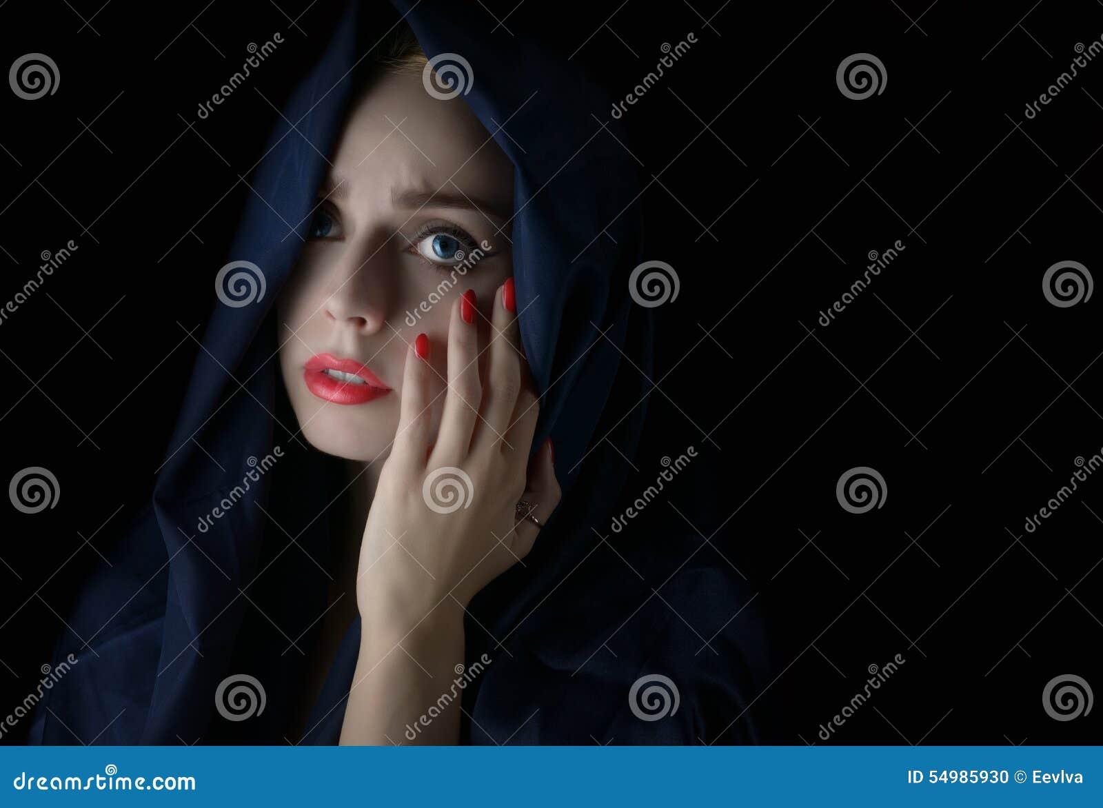 Bärande hijab för kvinna