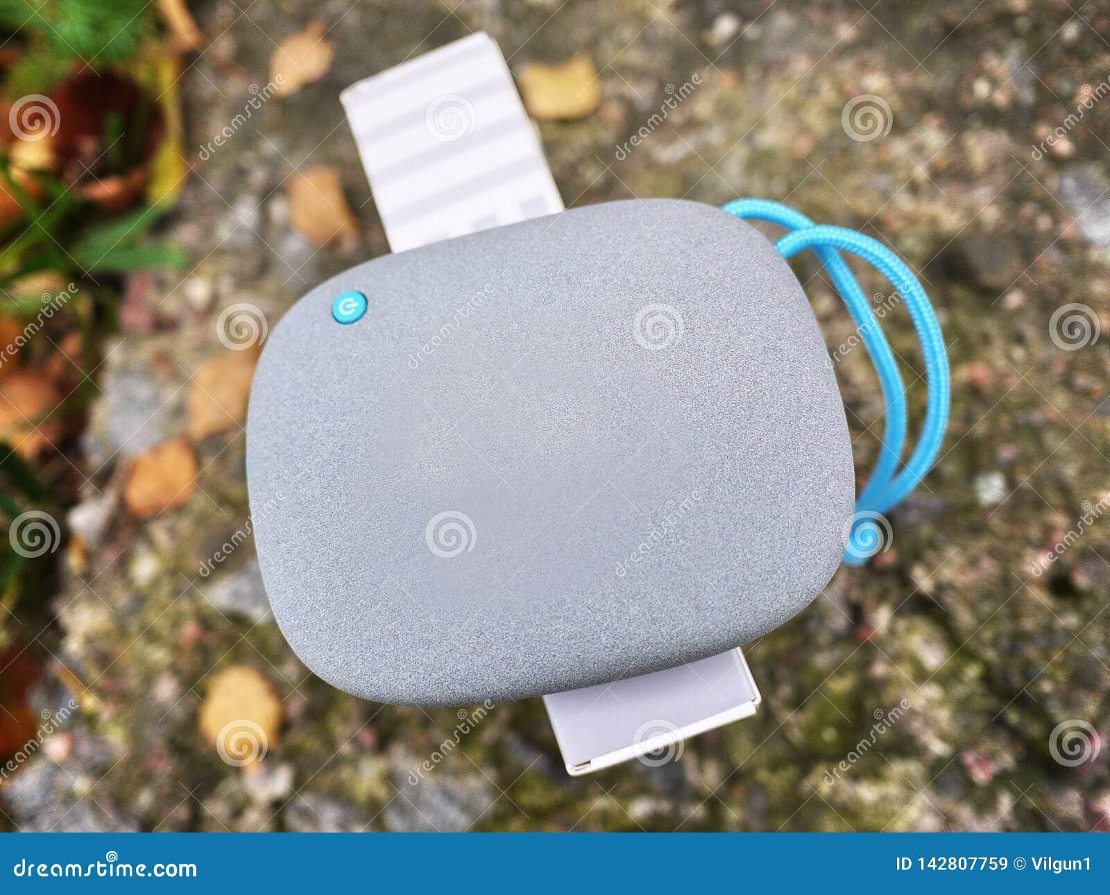 Bärbar Bluetooth högtalare för att lyssna till musik Använd för att lyssna till musik från batteriet