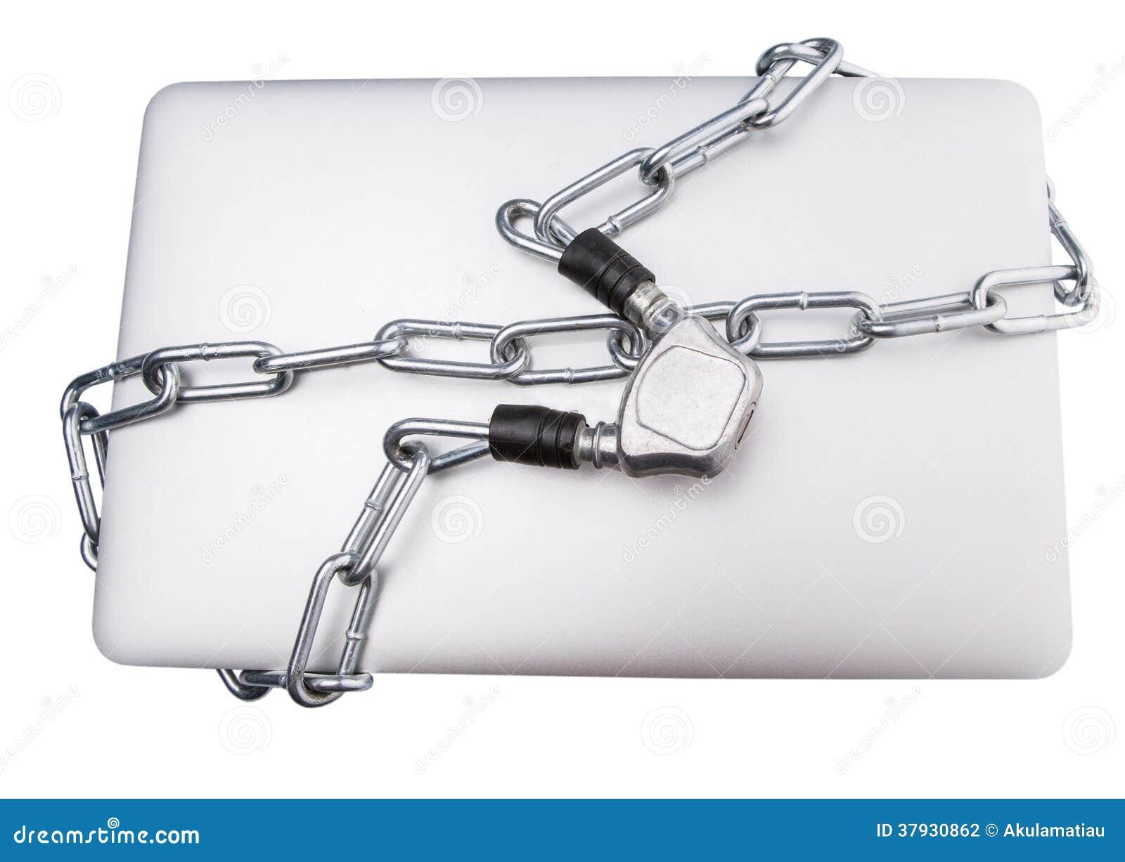 Bärbar dator- och kedjedropp