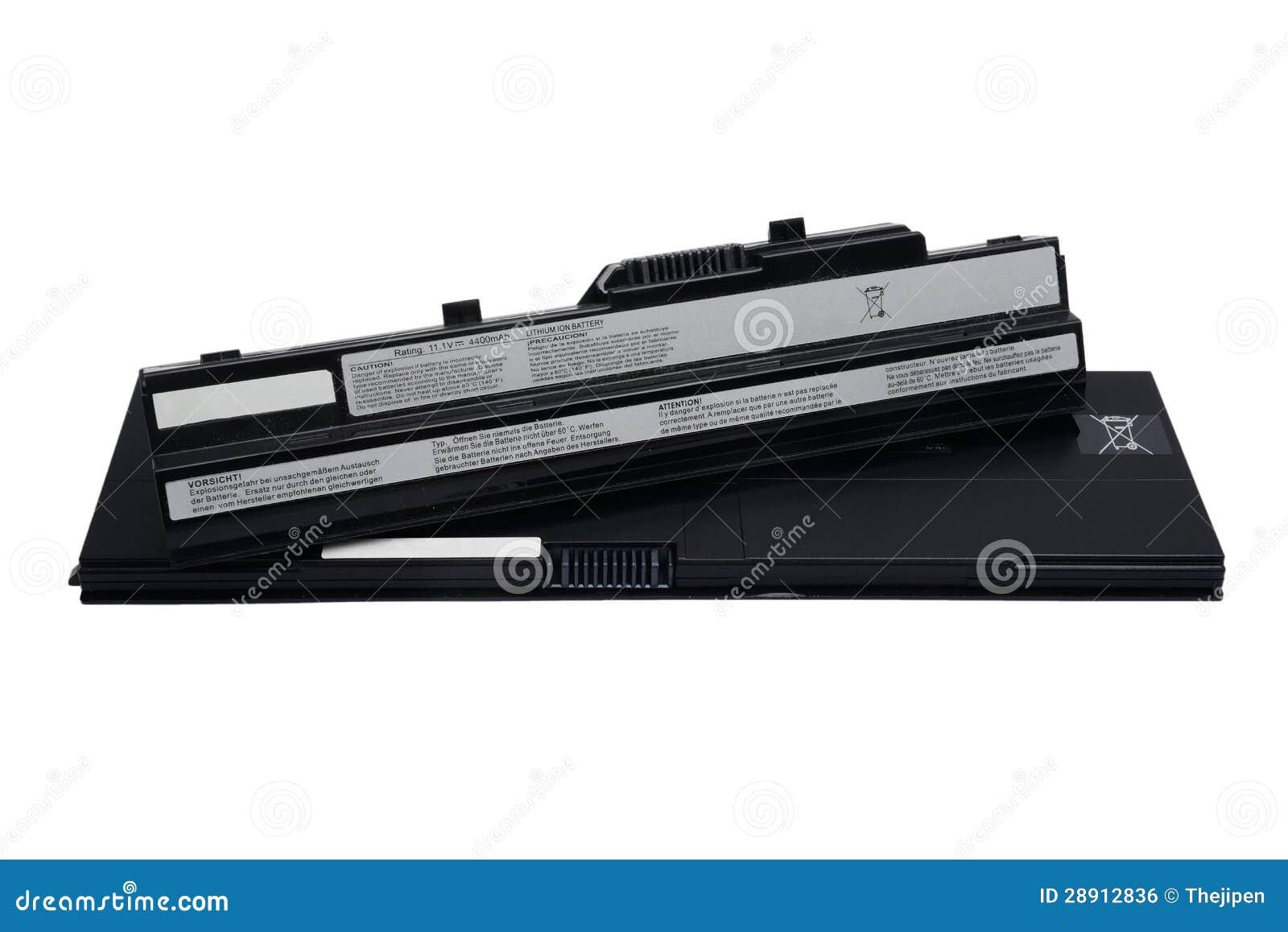 Bärbar datorbatteri