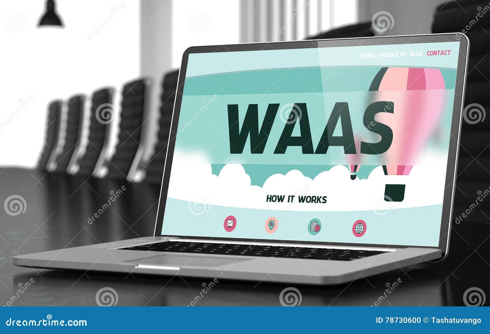 Bärbar datorskärm med det Waas begreppet 3d