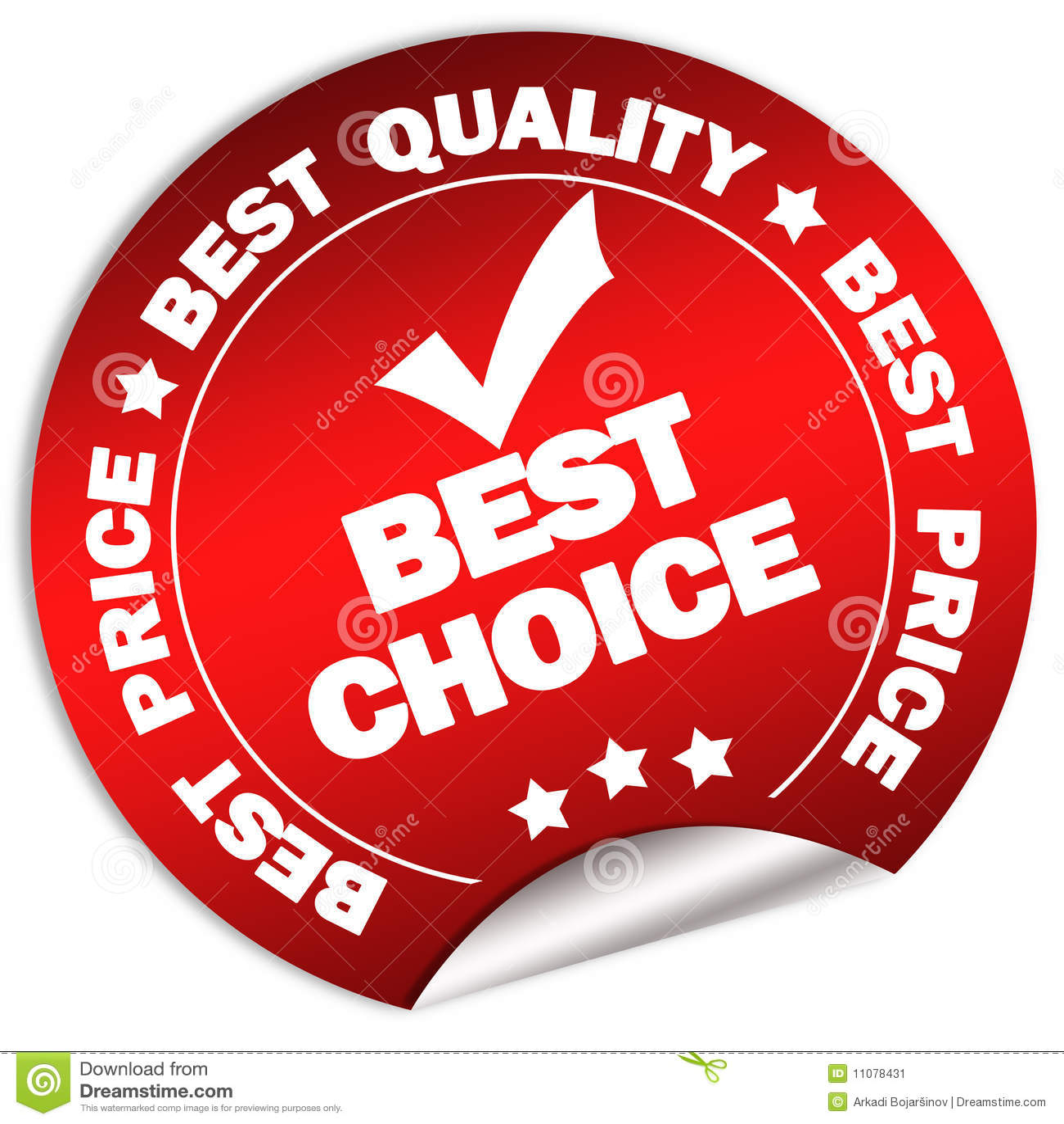 Bäst choice guaranteeetikett