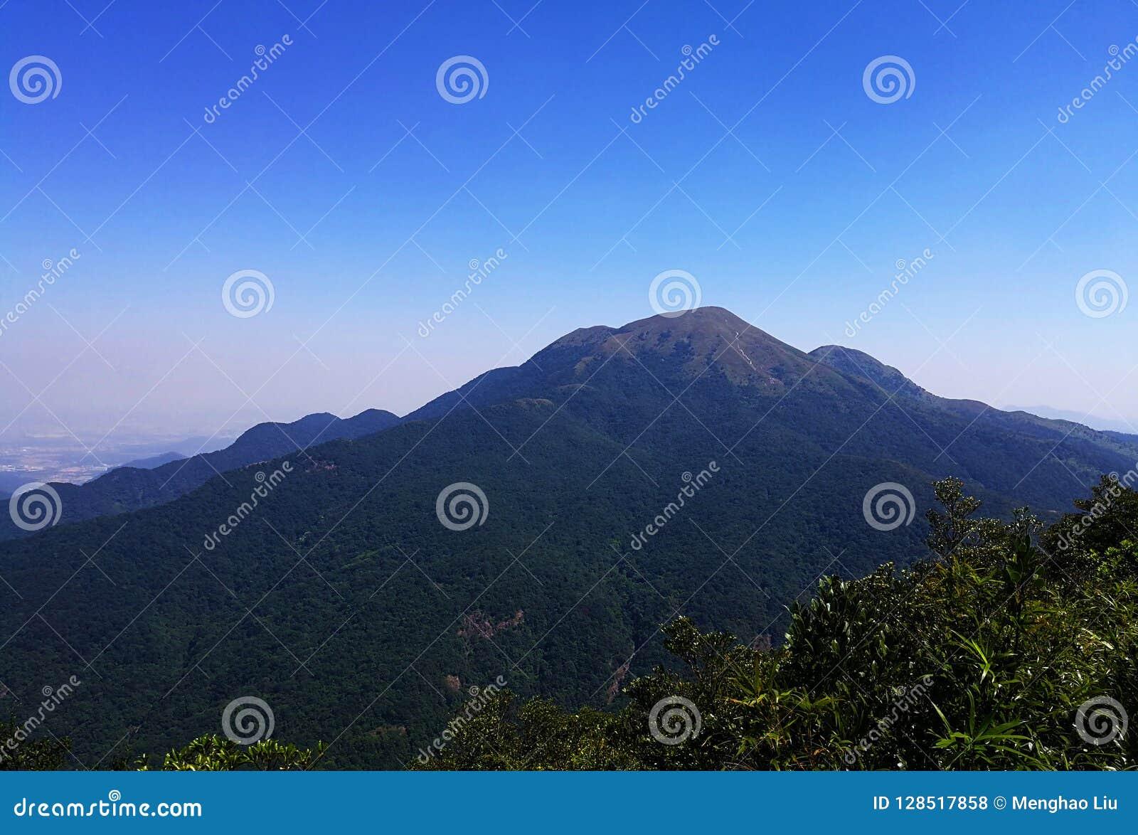 Bästa sikt för stort berg