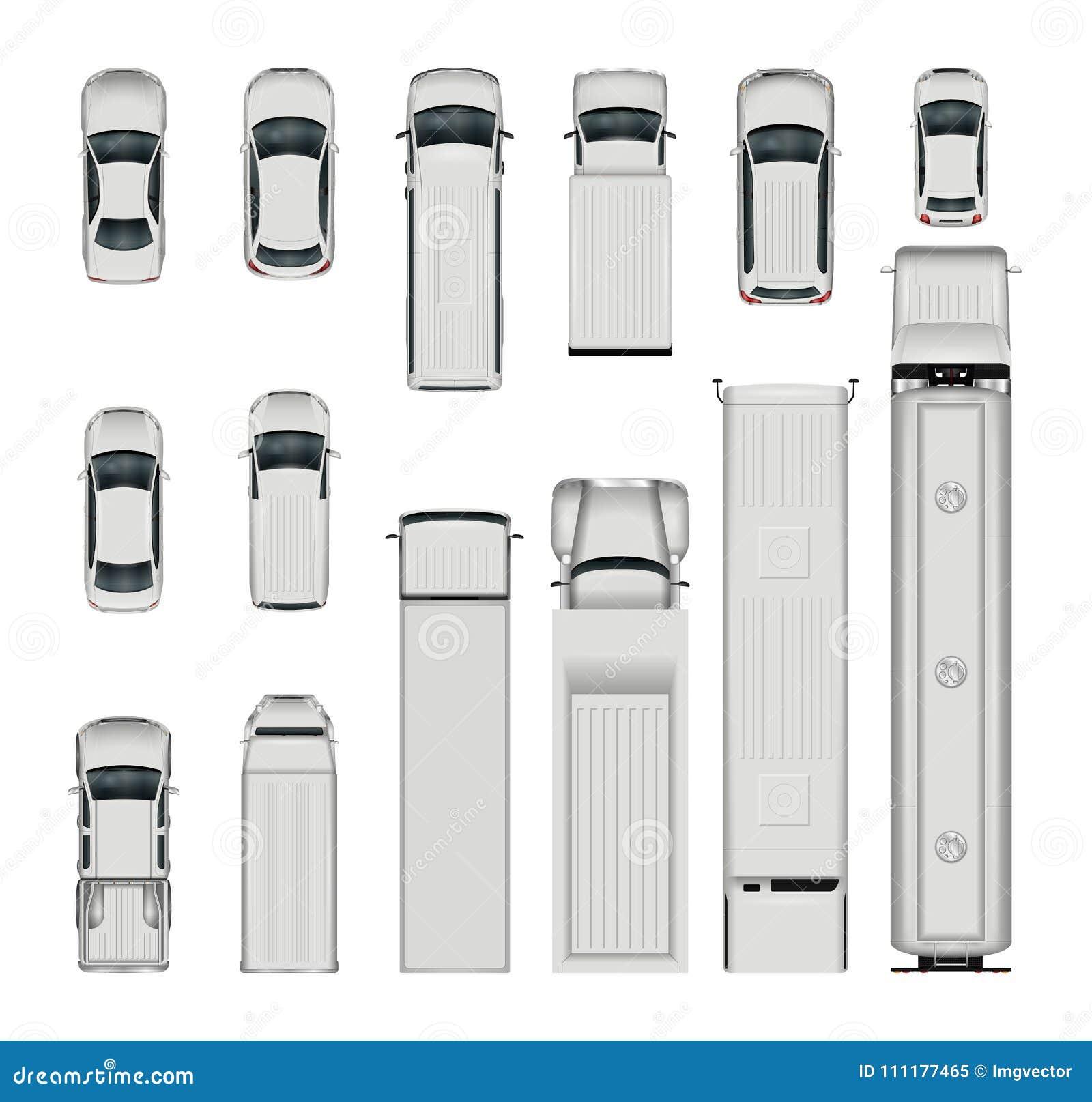 Bästa sikt för vektorbilar