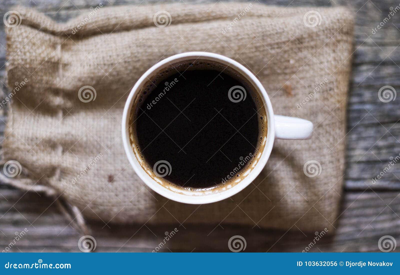 Bästa svart kaffe beskådar