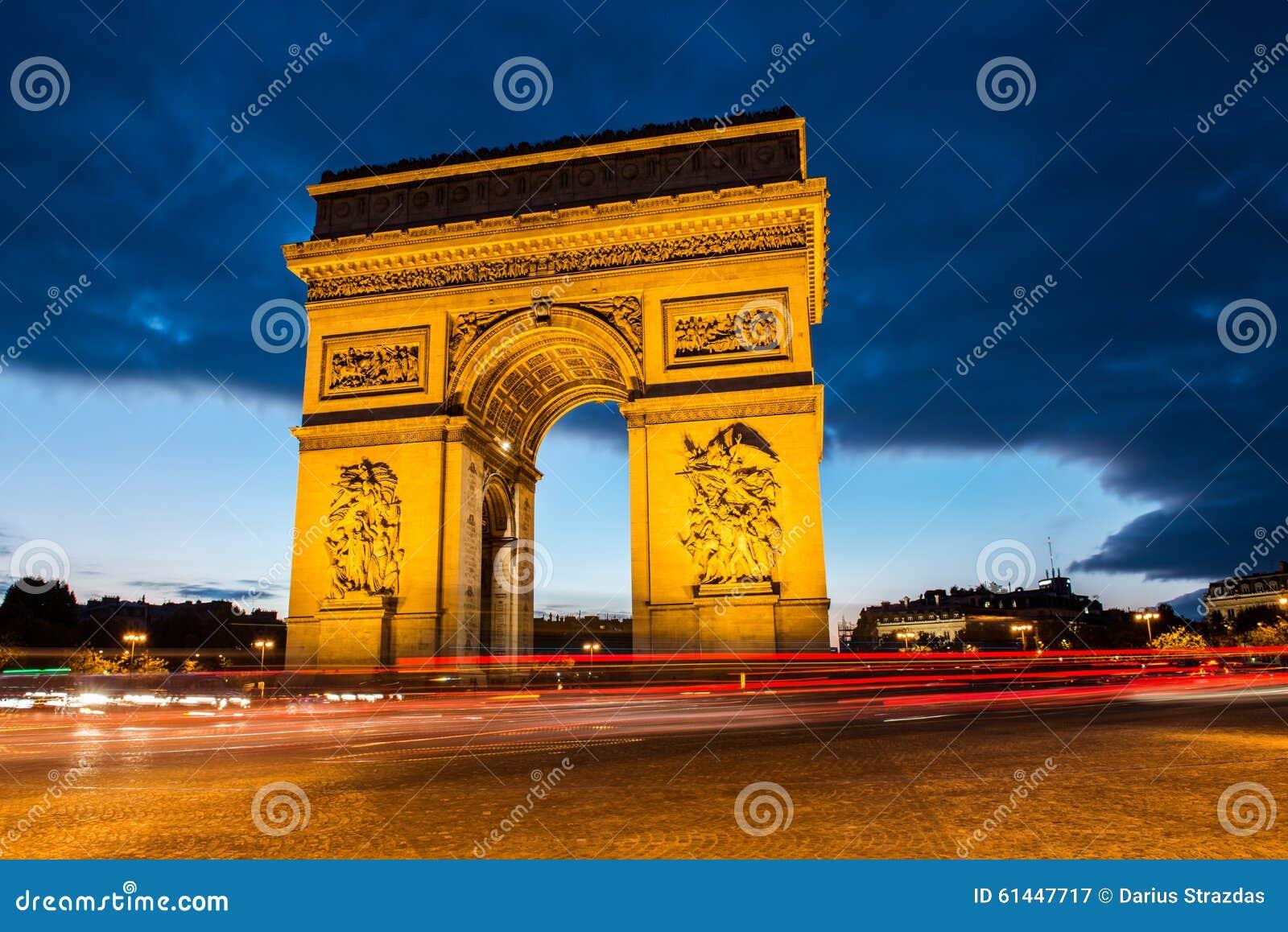 Båge av Triumph, Paris