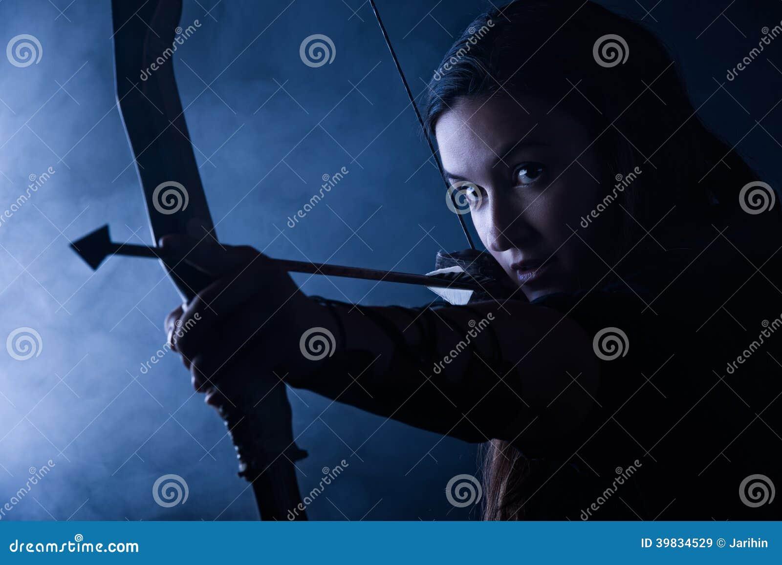 Bågskyttekvinna