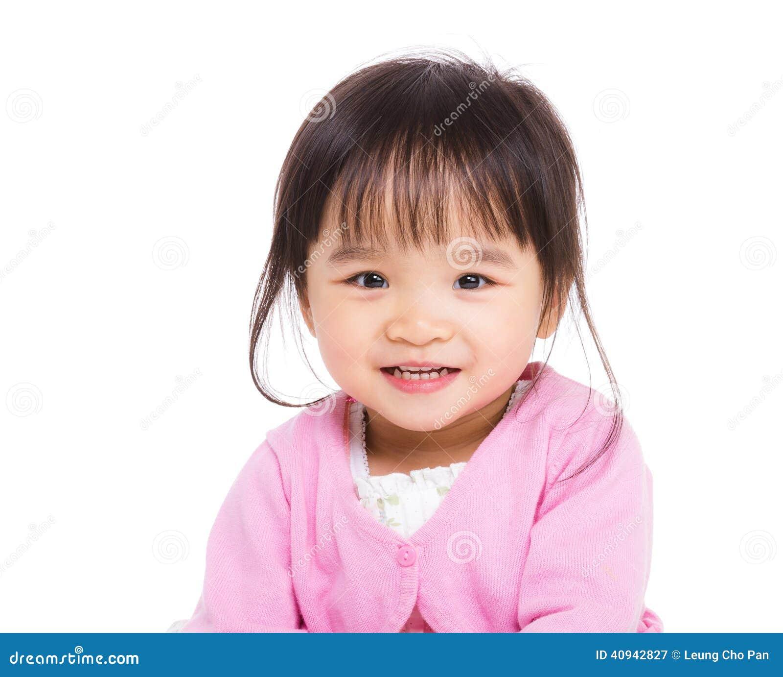 Bébé asiatique est