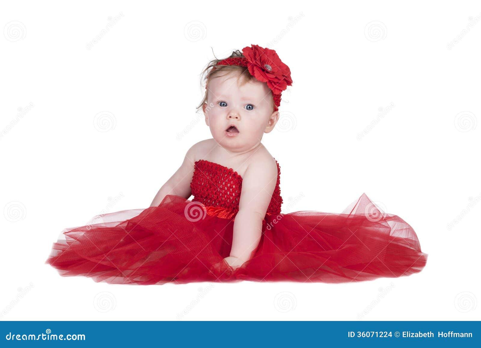 b b avec la robe rouge images stock image 36071224. Black Bedroom Furniture Sets. Home Design Ideas