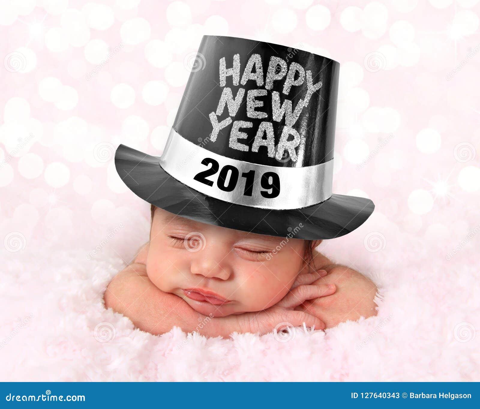 Bébé 2019 de bonne année