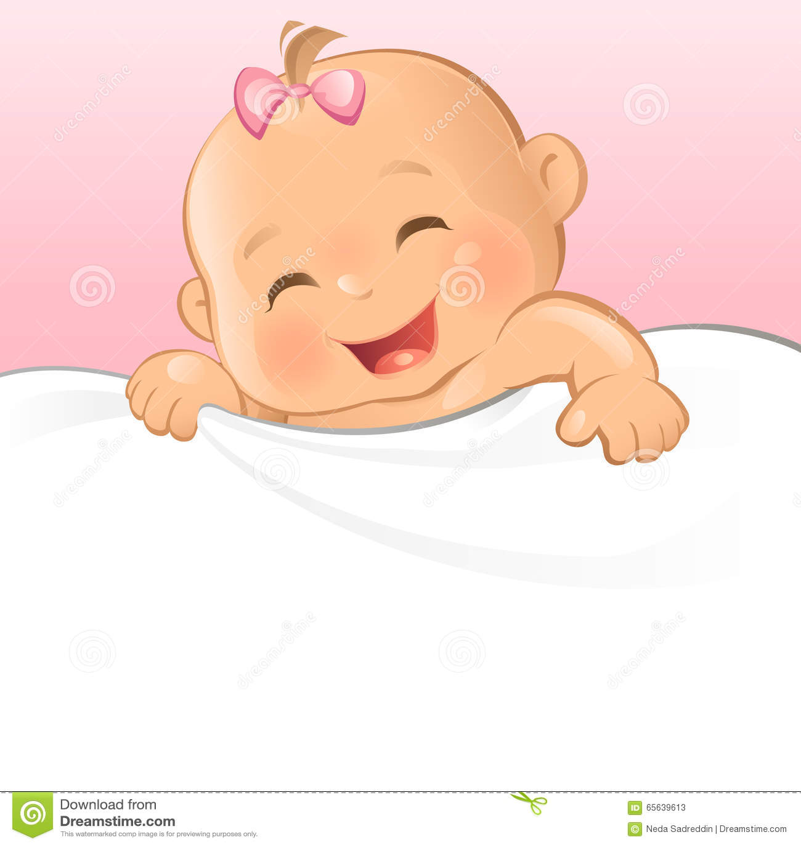Bébé heureux