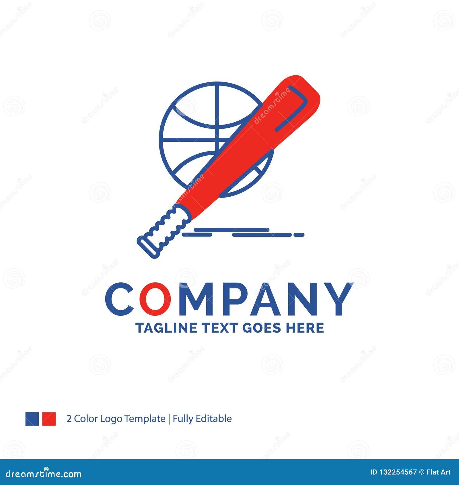 Béisbol de Logo Design For del nombre de compañía, cesta, bola, juego, diversión