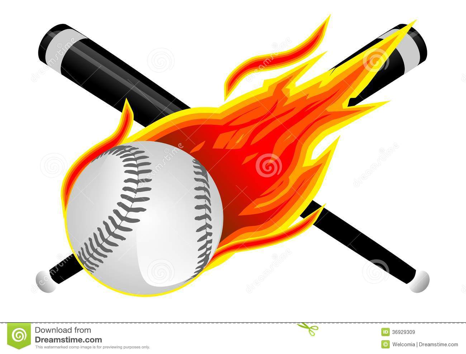 Béisbol en llamas stock de ilustración. Ilustración de playing ... 2e37115dd0ec2