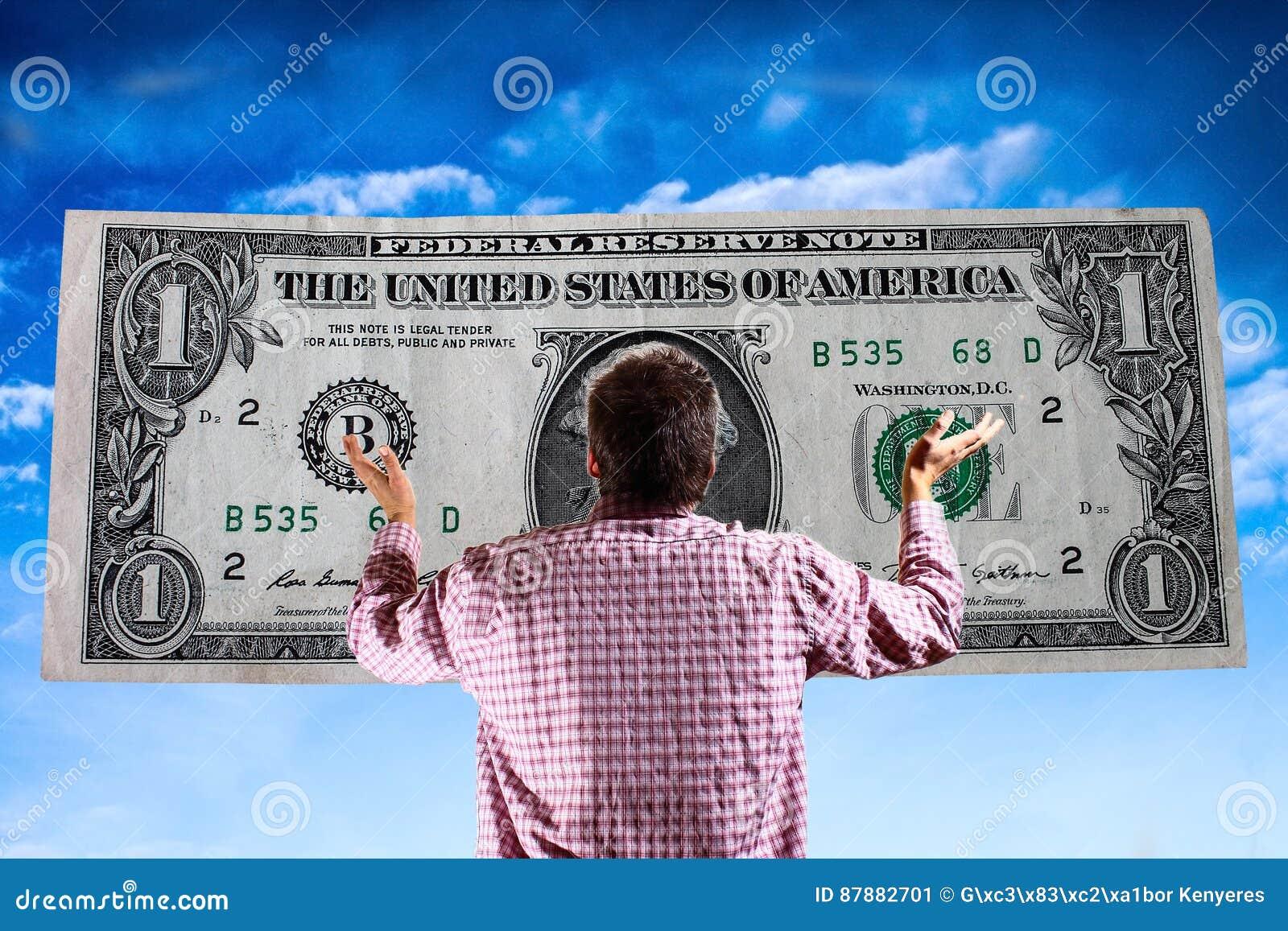 Bóg pieniądze - materialistyczny świat