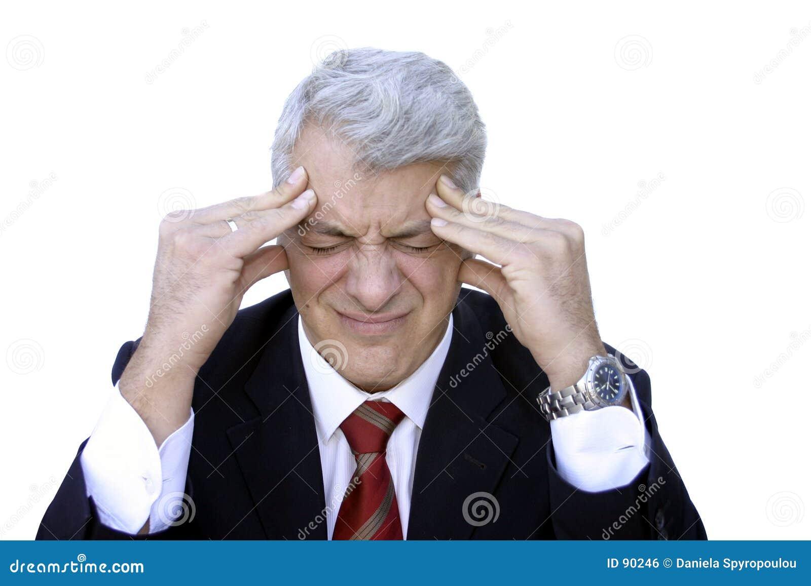Ból głowy.