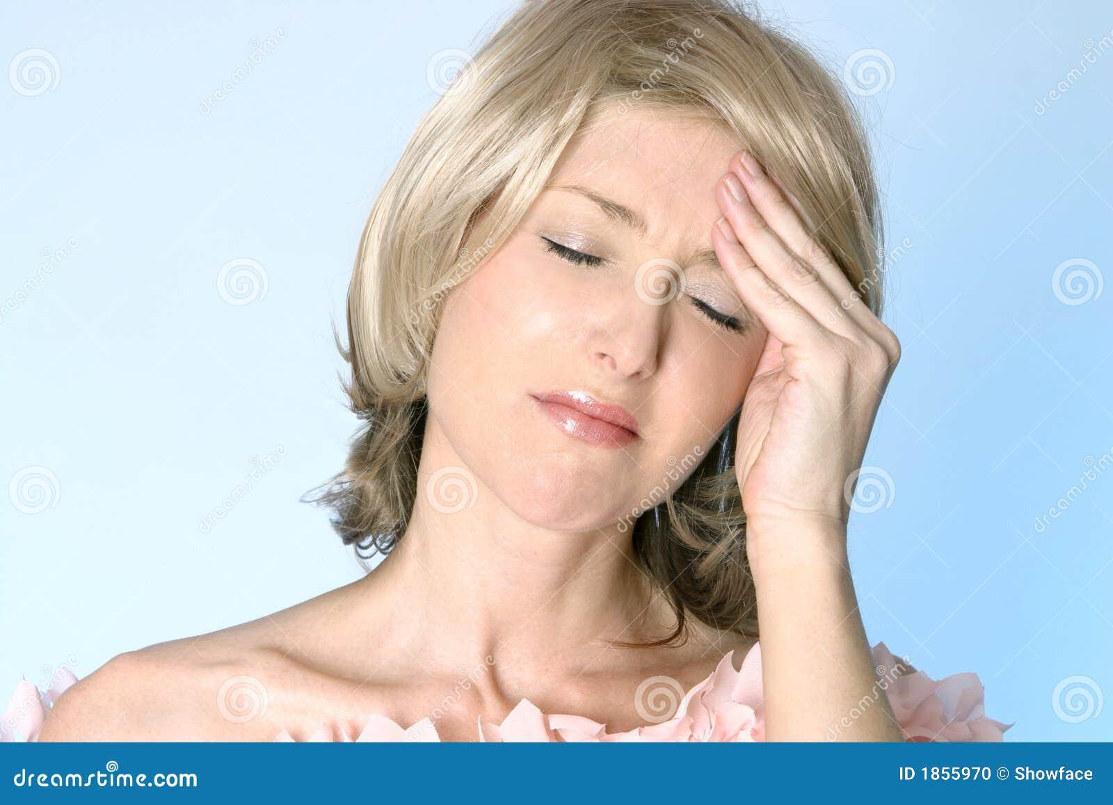 Bóle głowy ból kac
