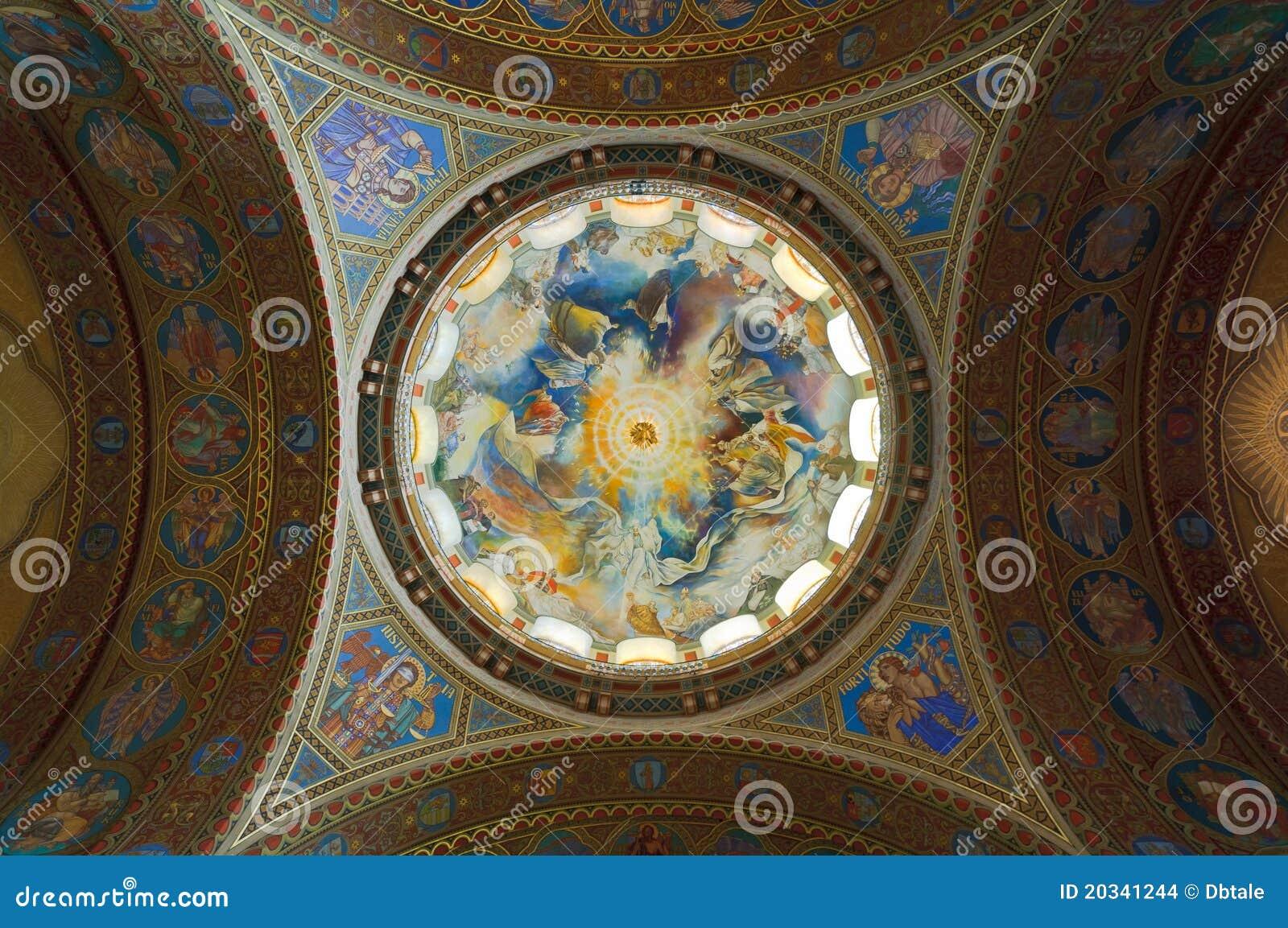 Bóveda de la iglesia votiva