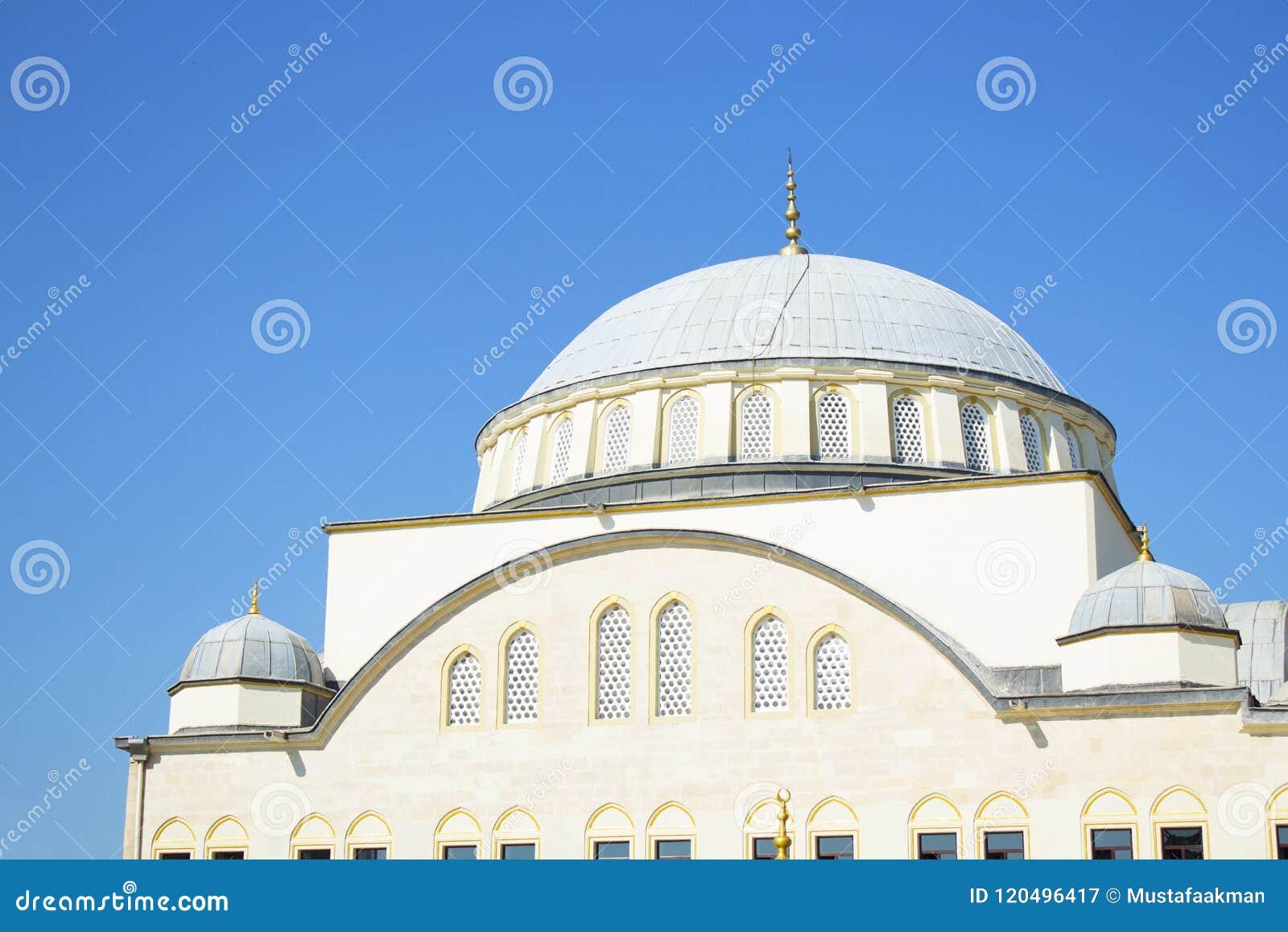 Bóveda de la mezquita en Estambul