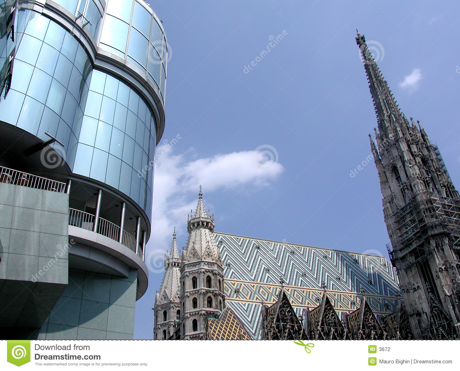 Bóveda de Stephen del santo - Wien