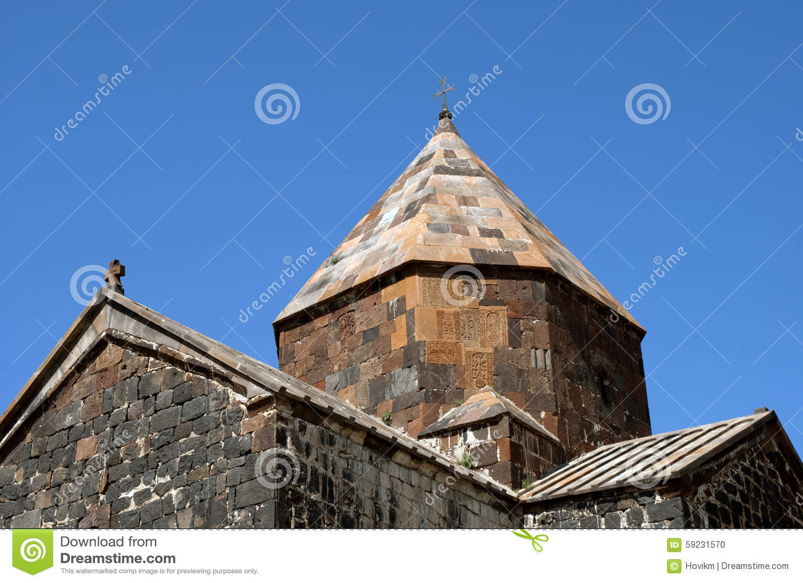 Download Bóveda Del Monasterio O Del Sevanavank (iglesia) De La Isla En La Isla De Sevan Foto de archivo - Imagen de lago, iglesias: 59231570