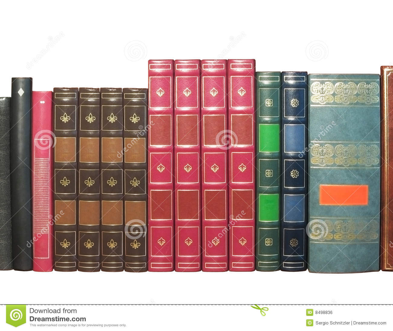 Böcker isolerade gammalt