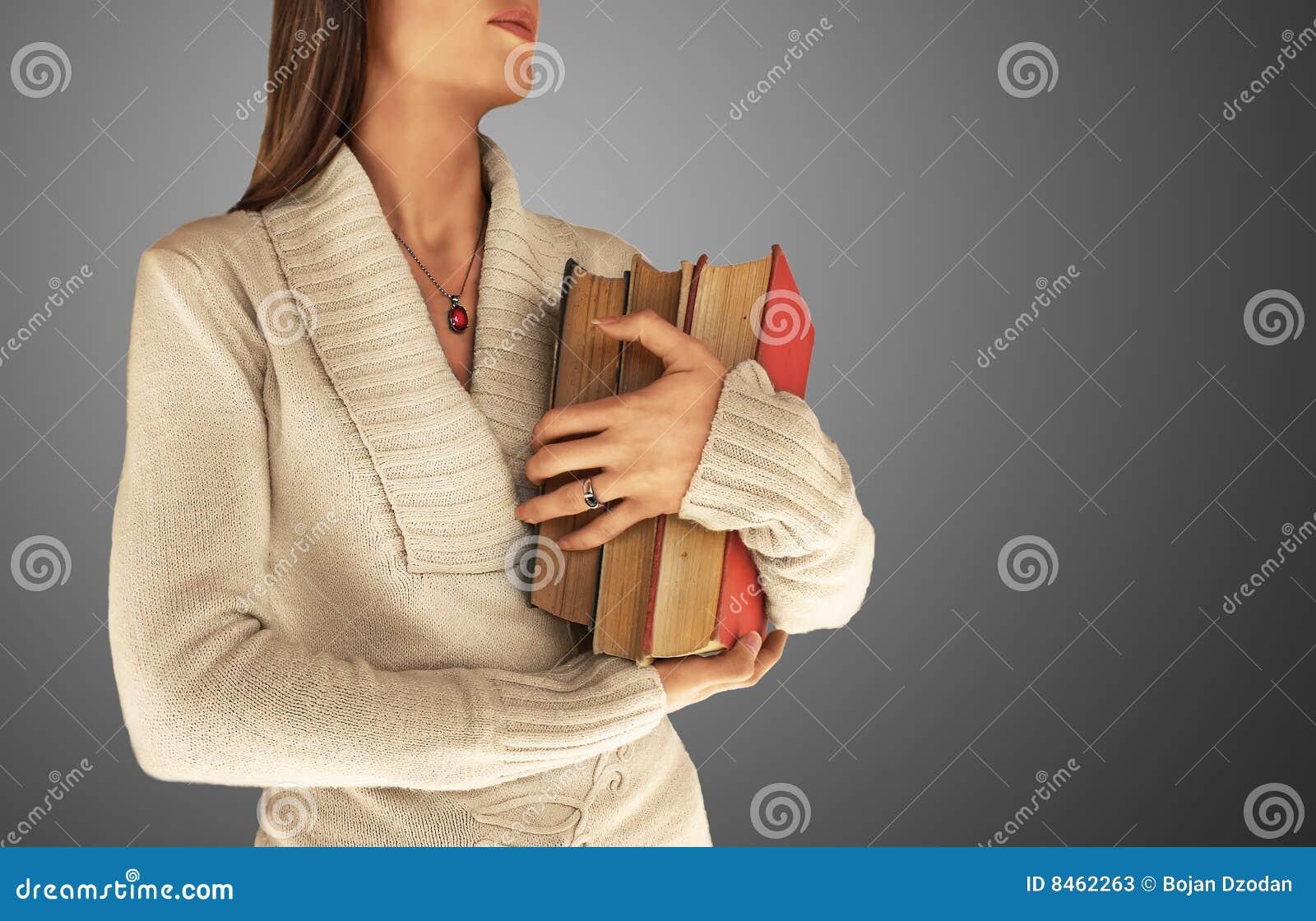 Böcker som rymmer den stora kvinnan