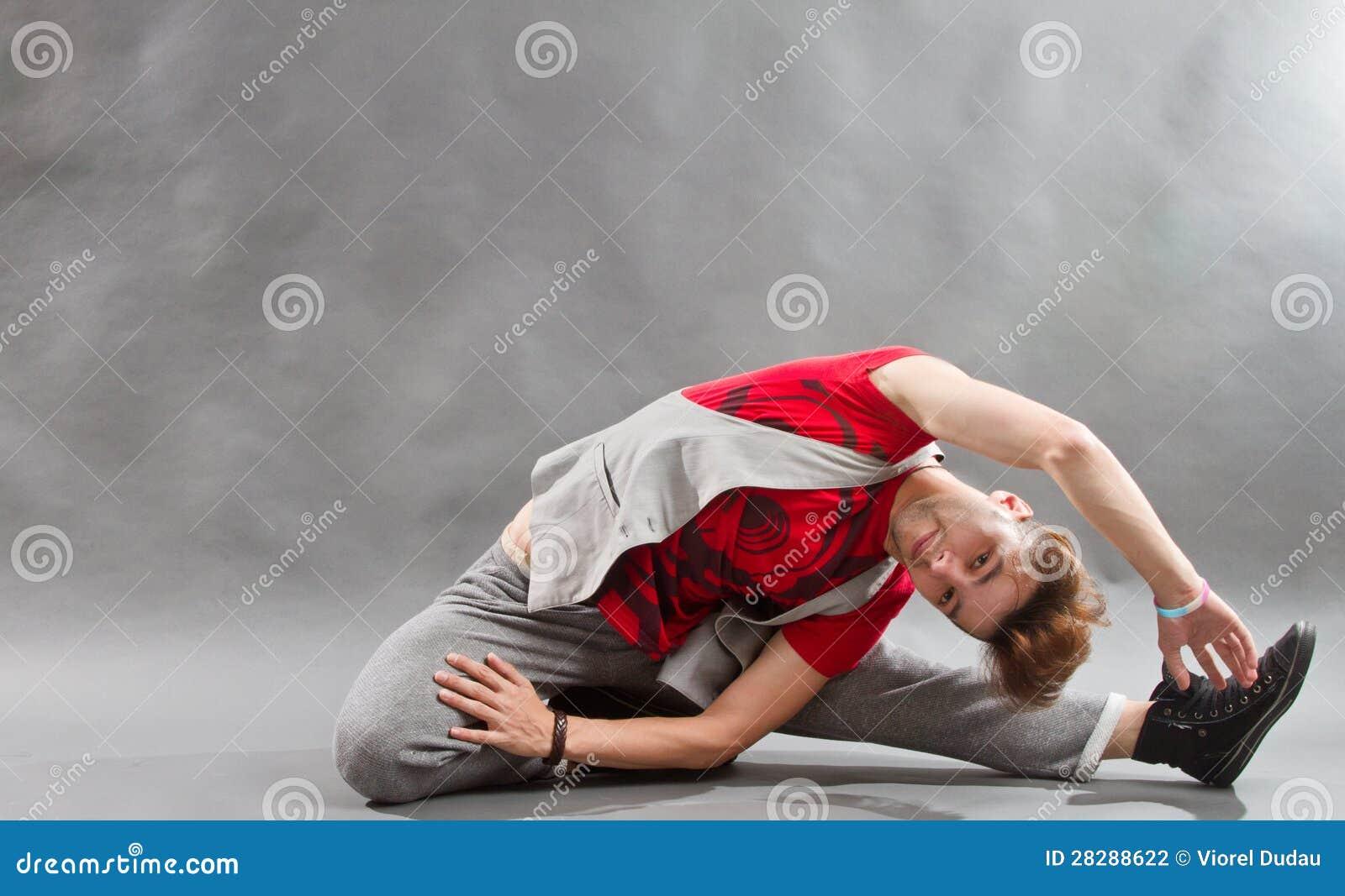 Böjliga Breakdancer