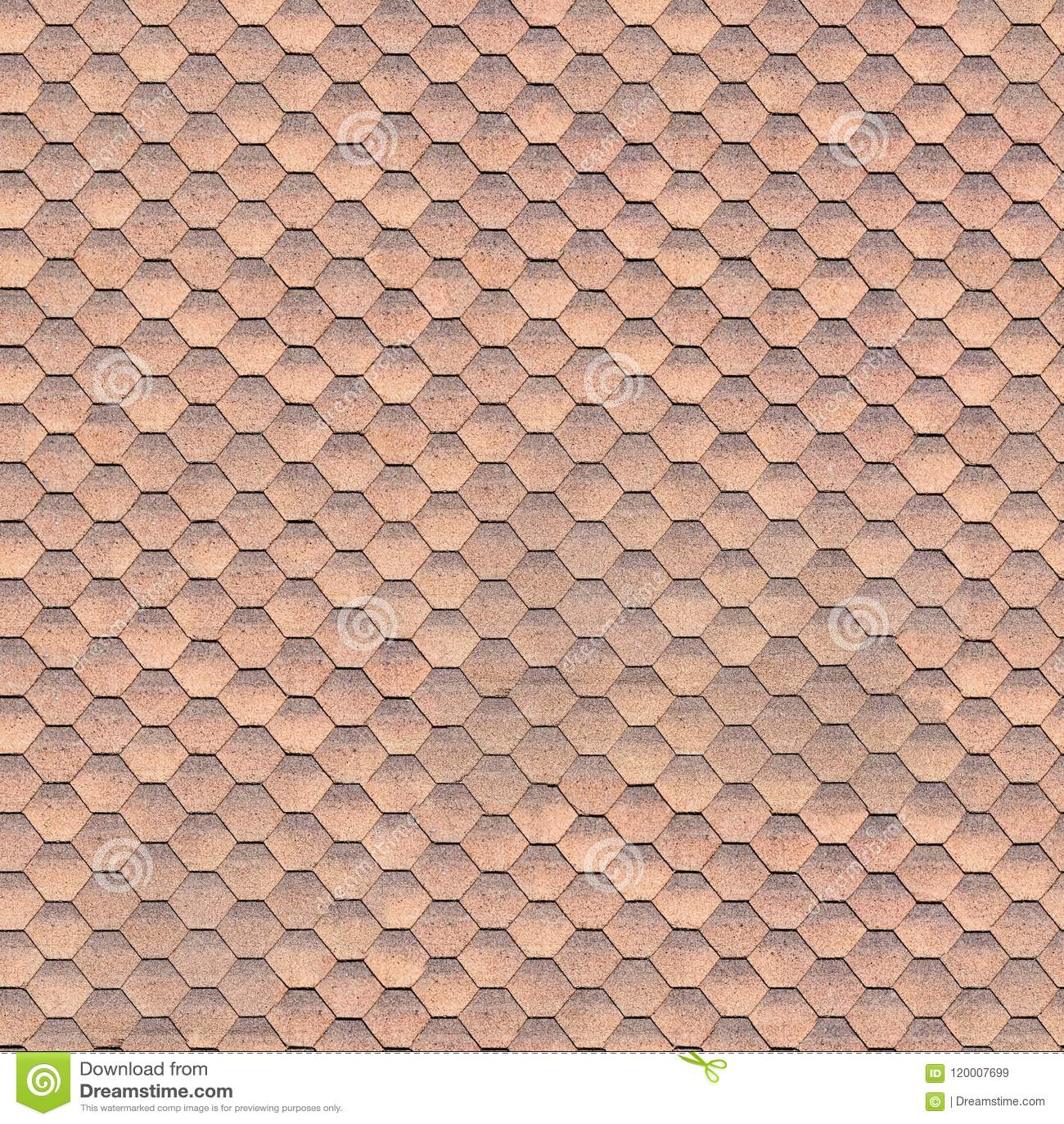 Böjliga bruna tegelplattor, sömlös textur