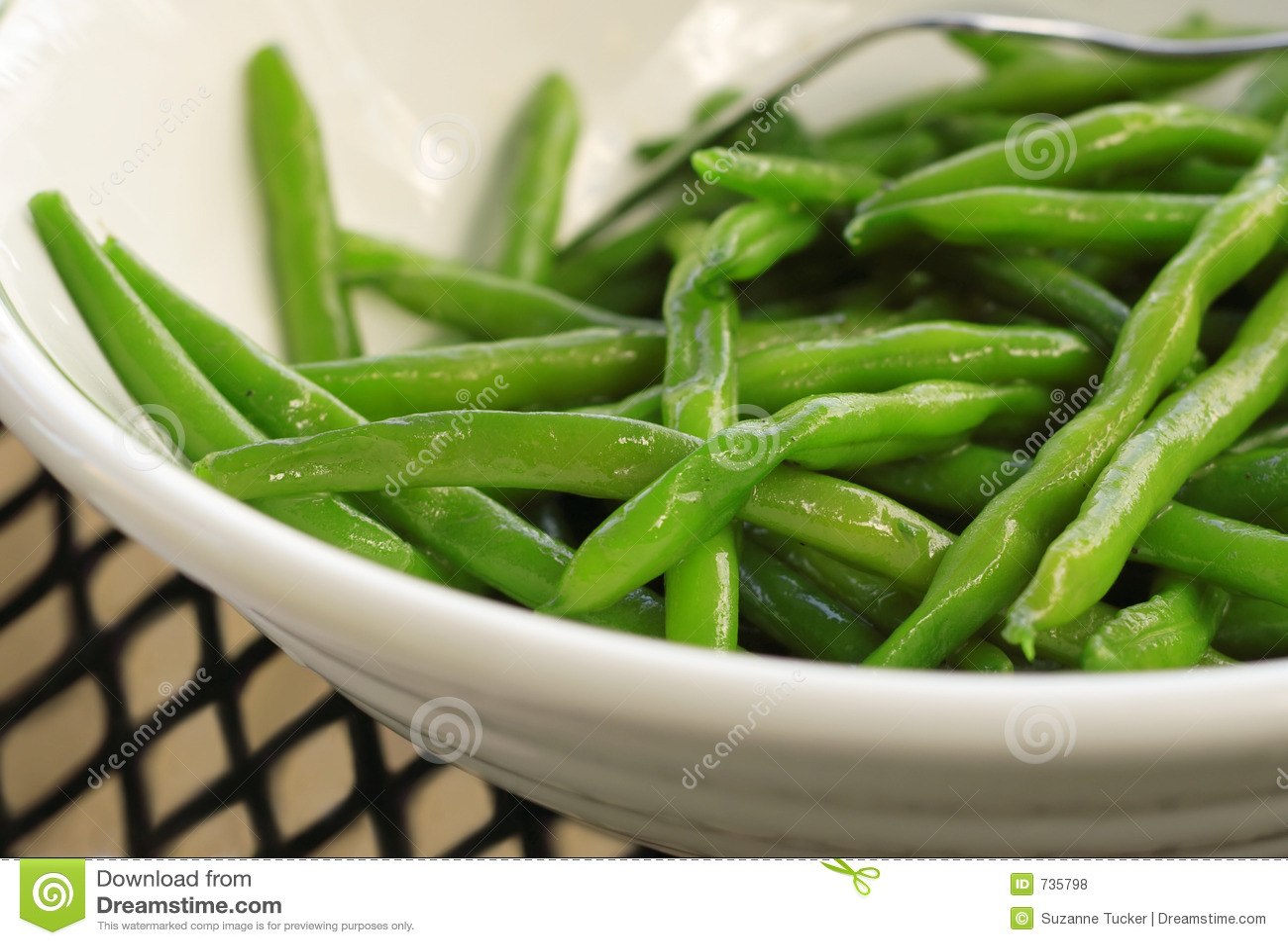 Bönor green sauteed